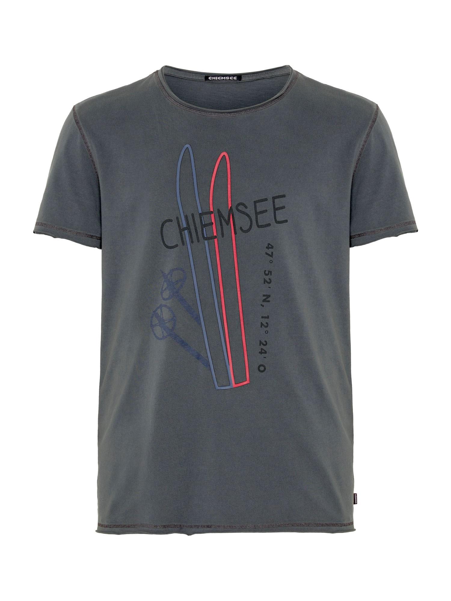 CHIEMSEE Funkční tričko 'HIMALCHULI'  antracitová / červená / modrá