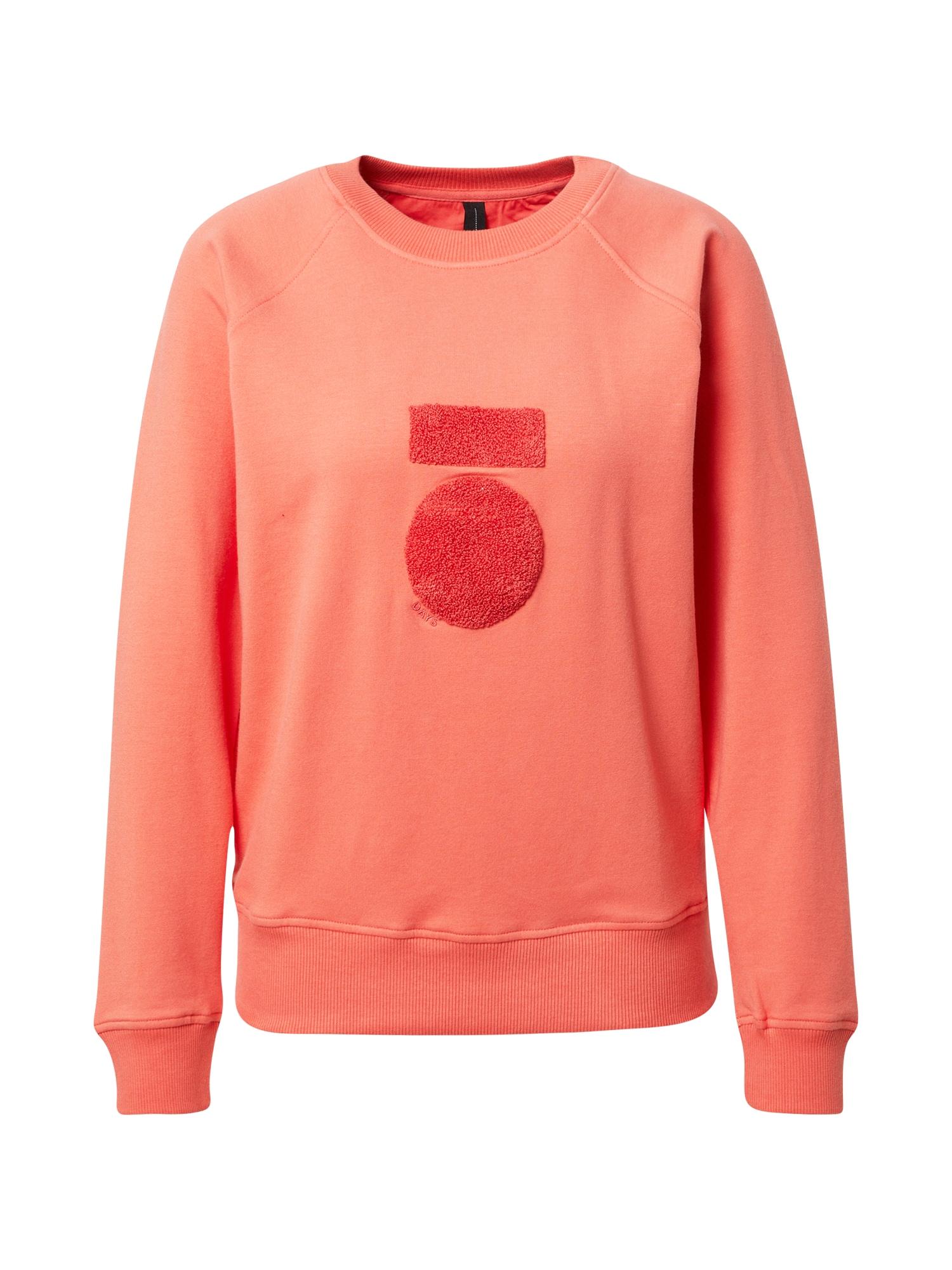 10Days Megztinis be užsegimo oranžinė / koralų splava
