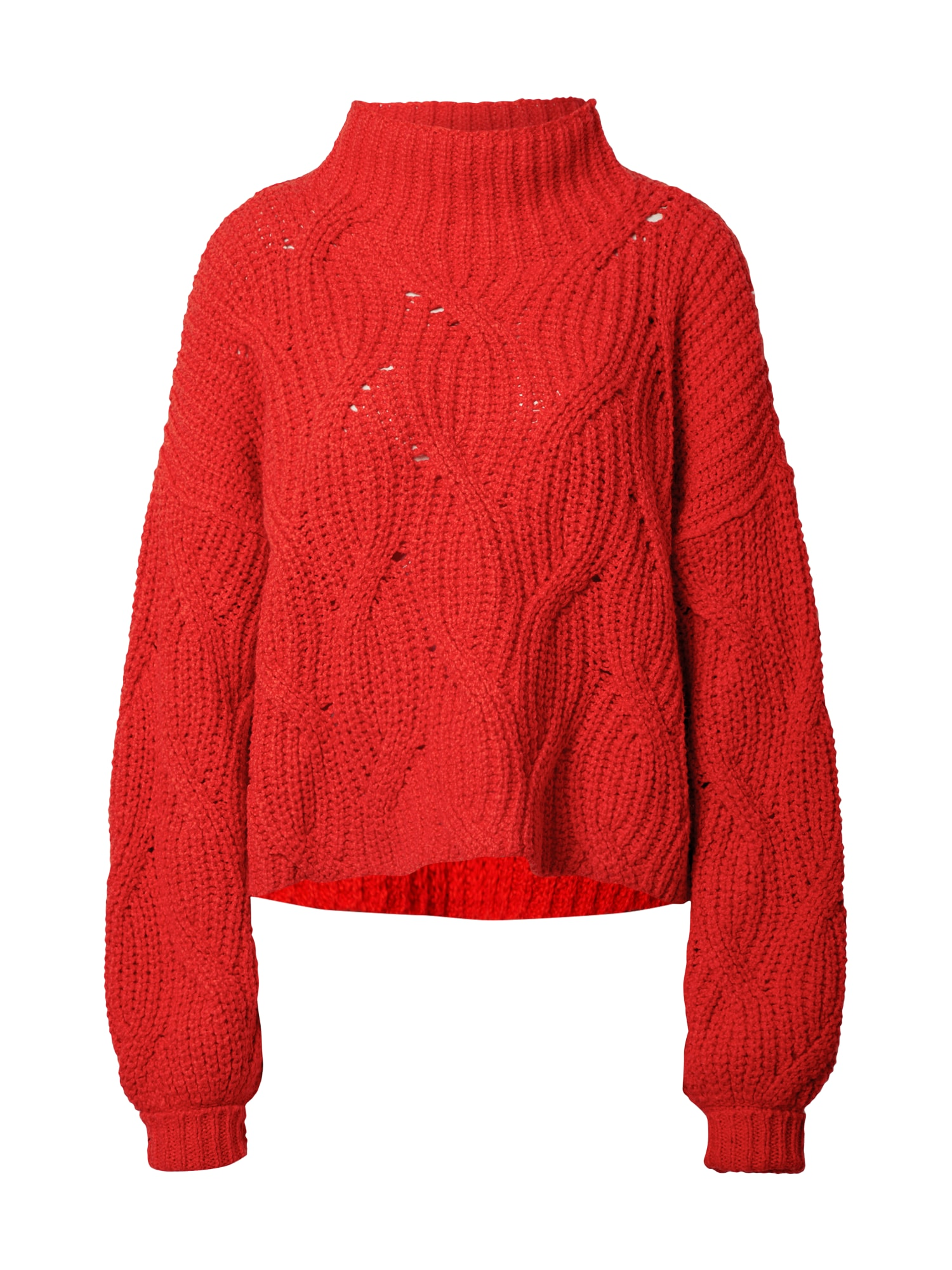 Free People Megztinis raudona