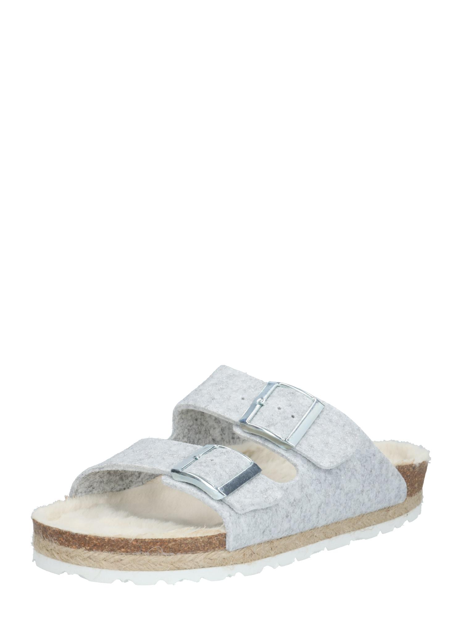 espadrij l´originale Šlepetės sidabrinė / dūmų pilka