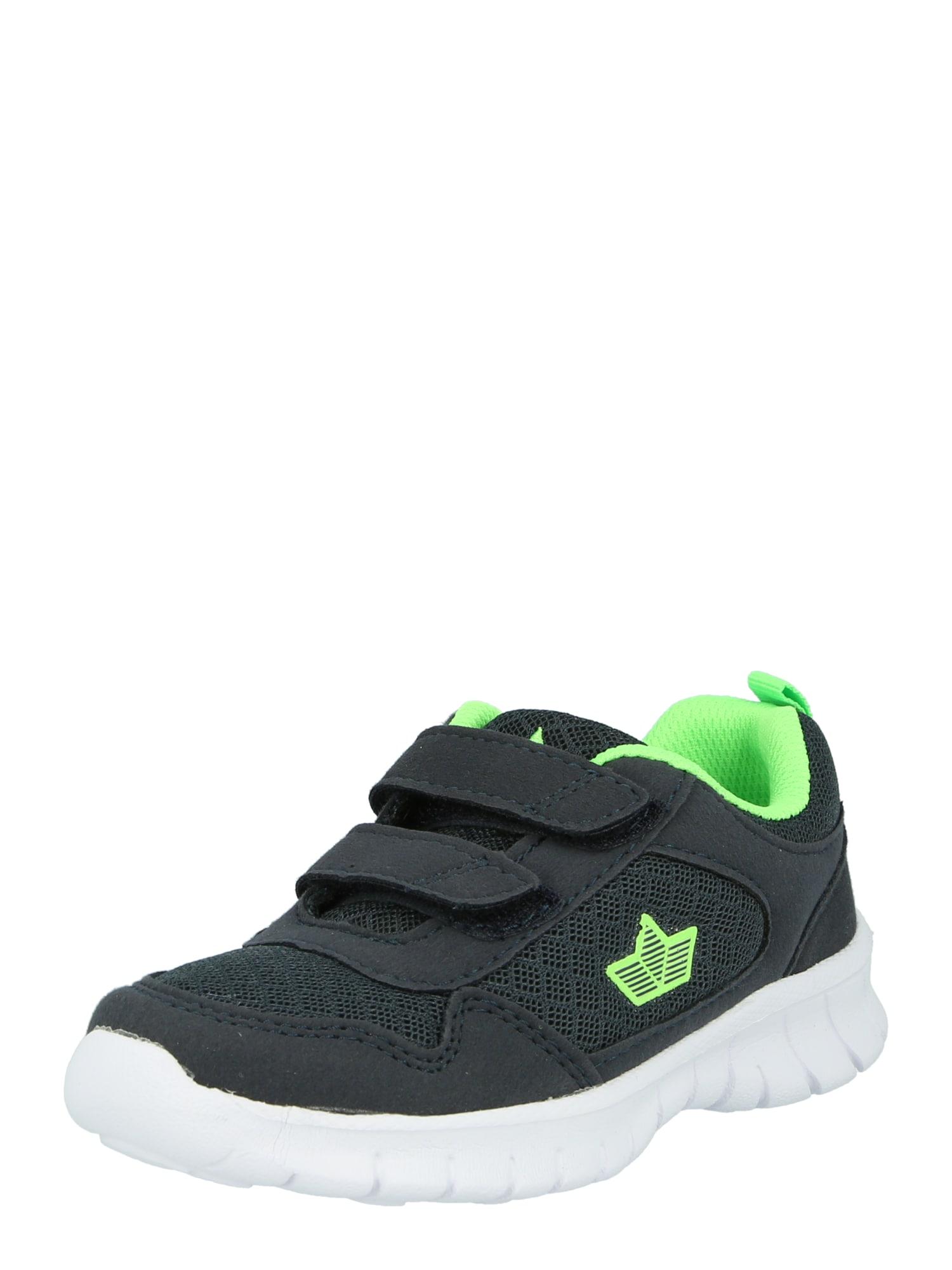 LICO Sportiniai batai nakties mėlyna / neoninė žalia