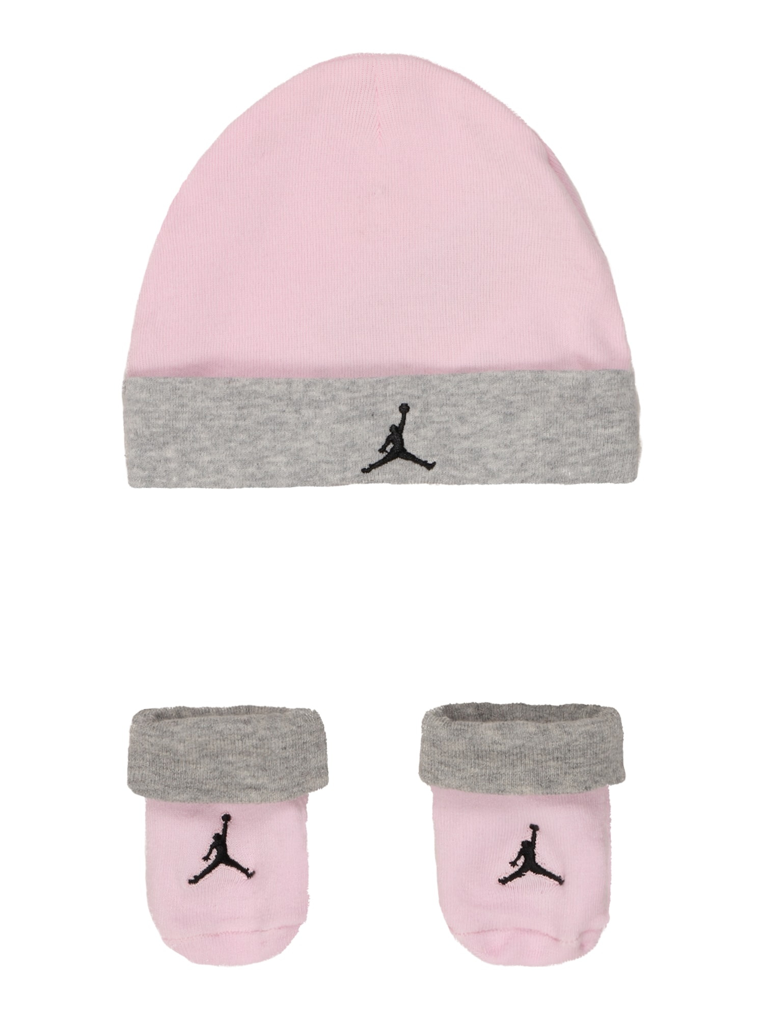Jordan Megzta kepurė rožinė / margai pilka / juoda