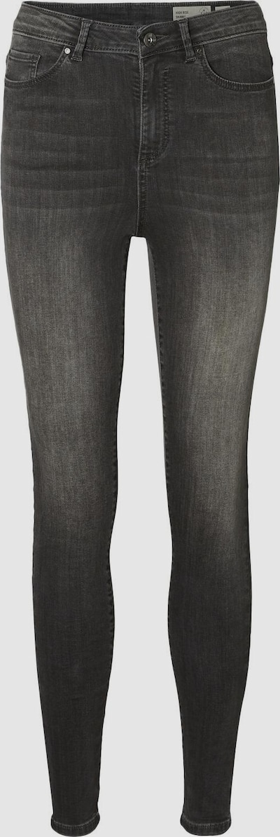 Vero Moda Sophia High Waisted Dark Grey Skinny Jeans