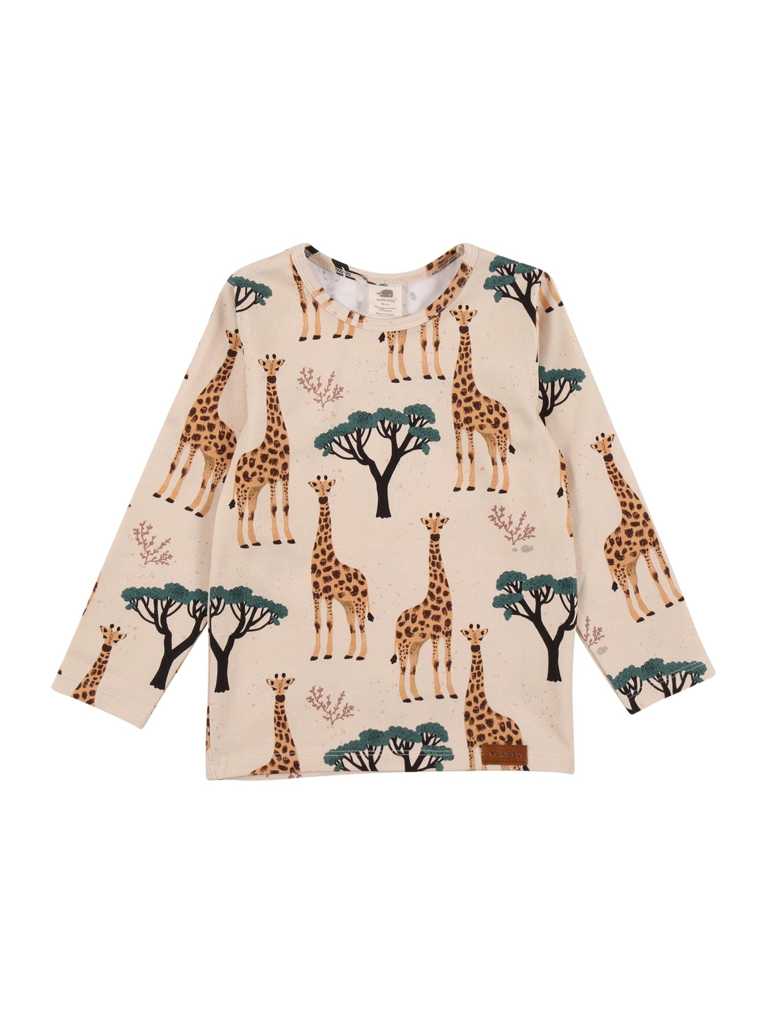 Walkiddy Marškinėliai smėlio / mišrios spalvos