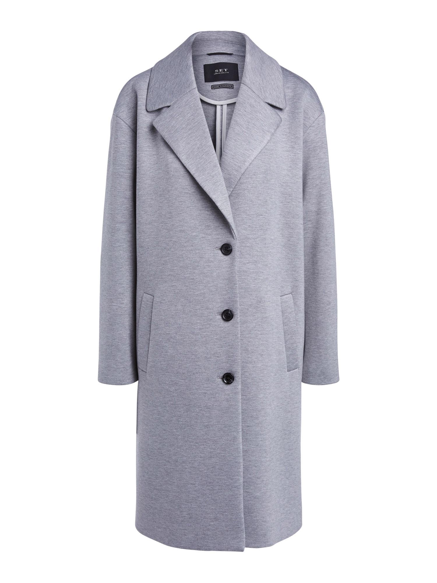 SET Demisezoninis paltas pilka