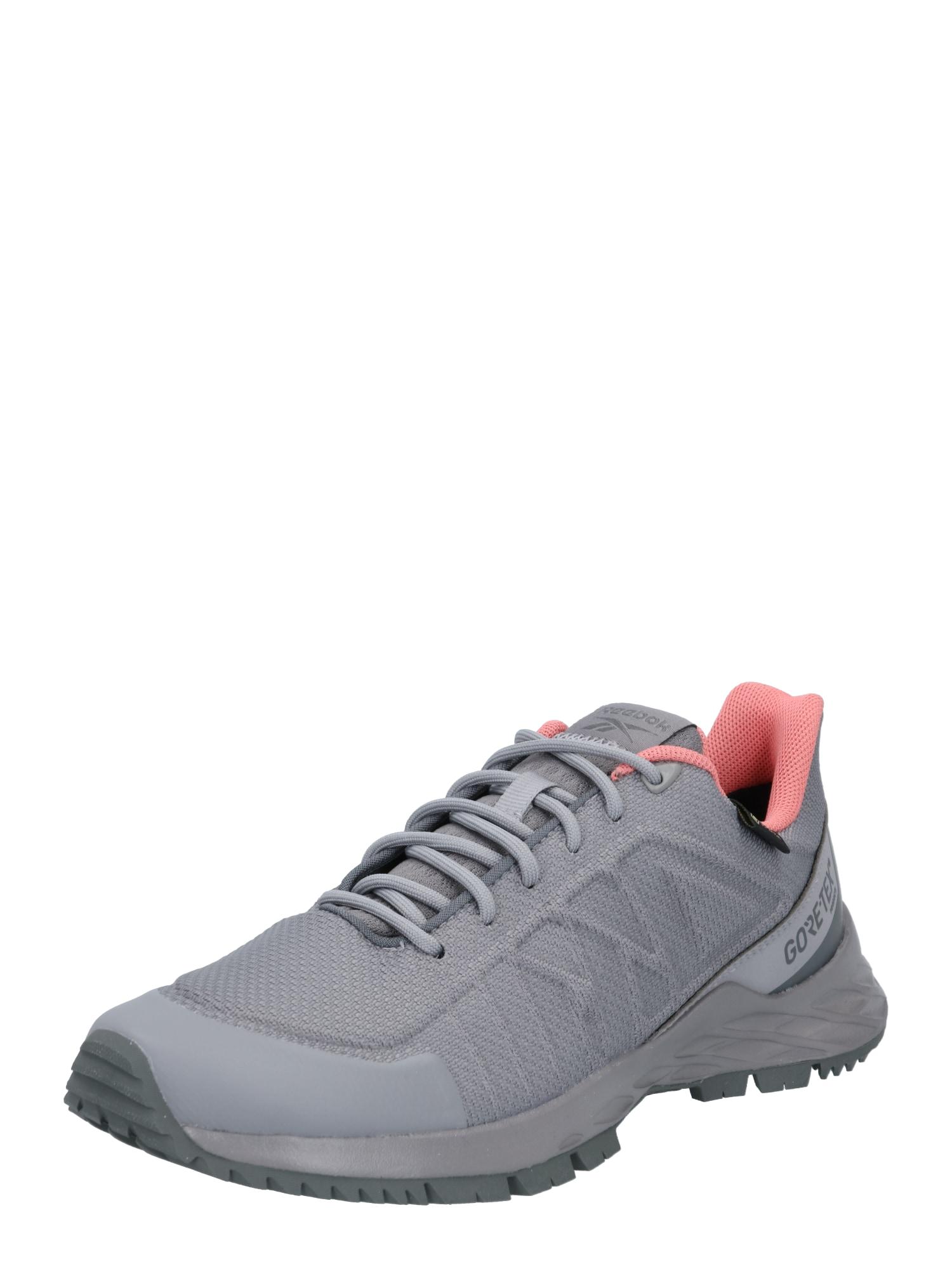 REEBOK Sportiniai batai 'ASTRORIDE TRAIL GTX 2.0 ' pilka / rožinė