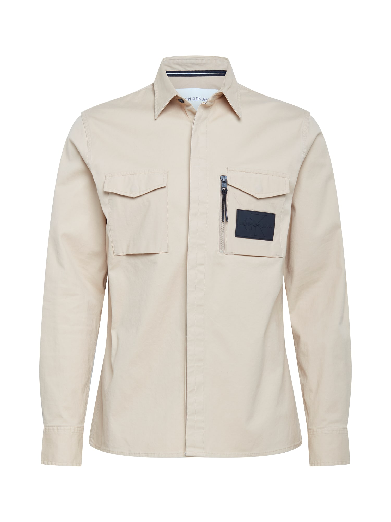 Calvin Klein Jeans Marškiniai kremo