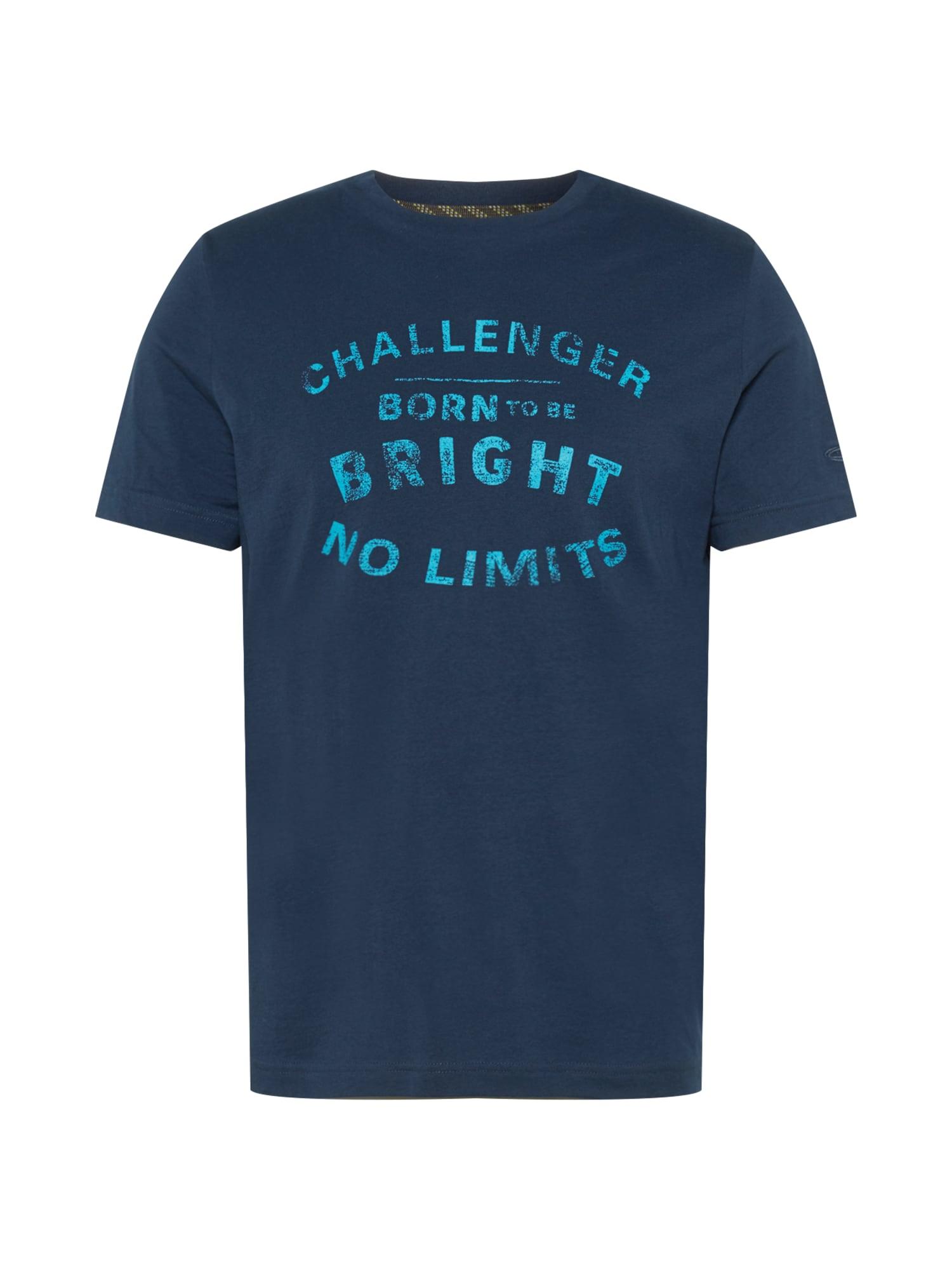 CAMEL ACTIVE Marškinėliai tamsiai mėlyna