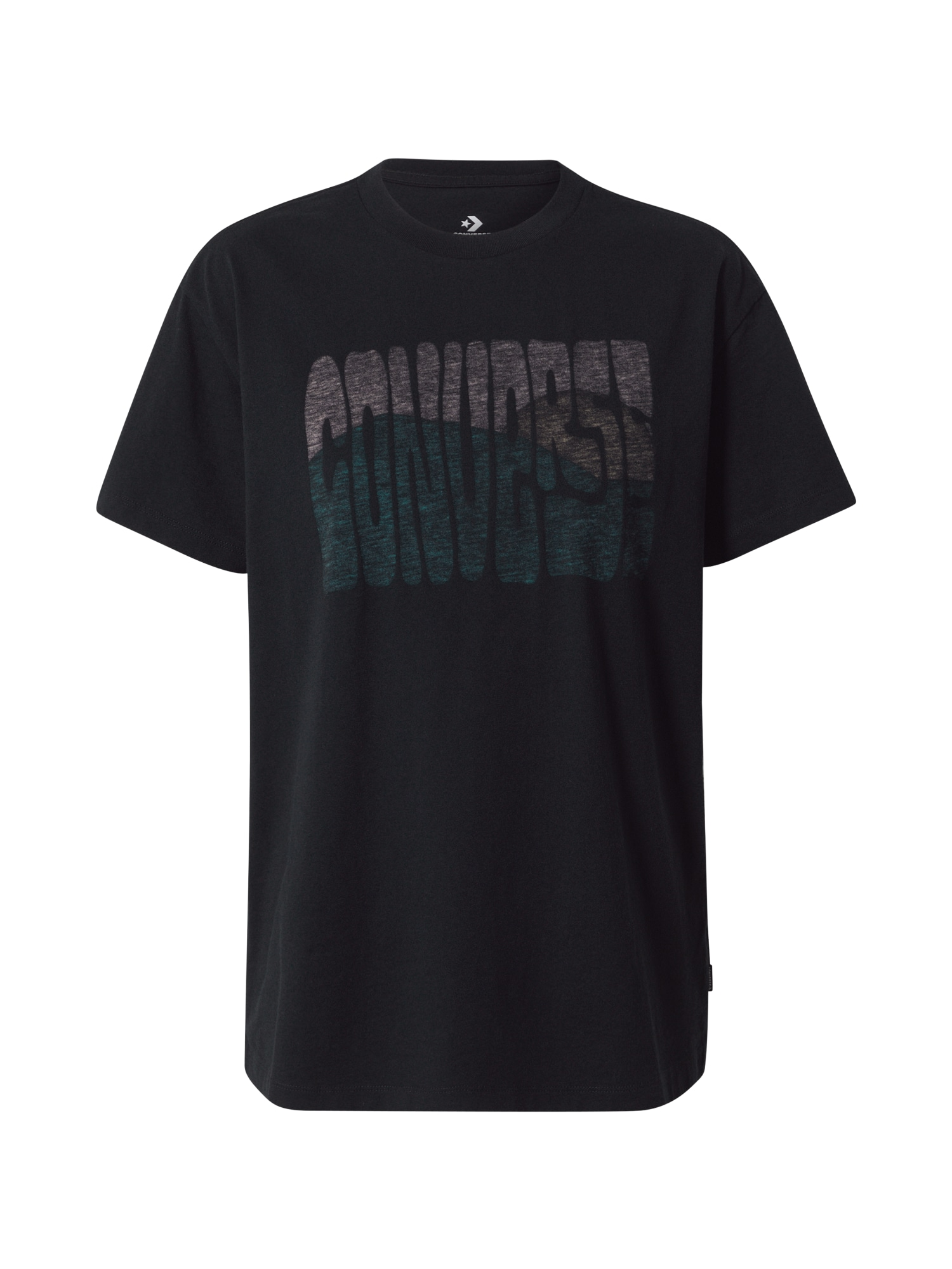 CONVERSE Marškinėliai juoda