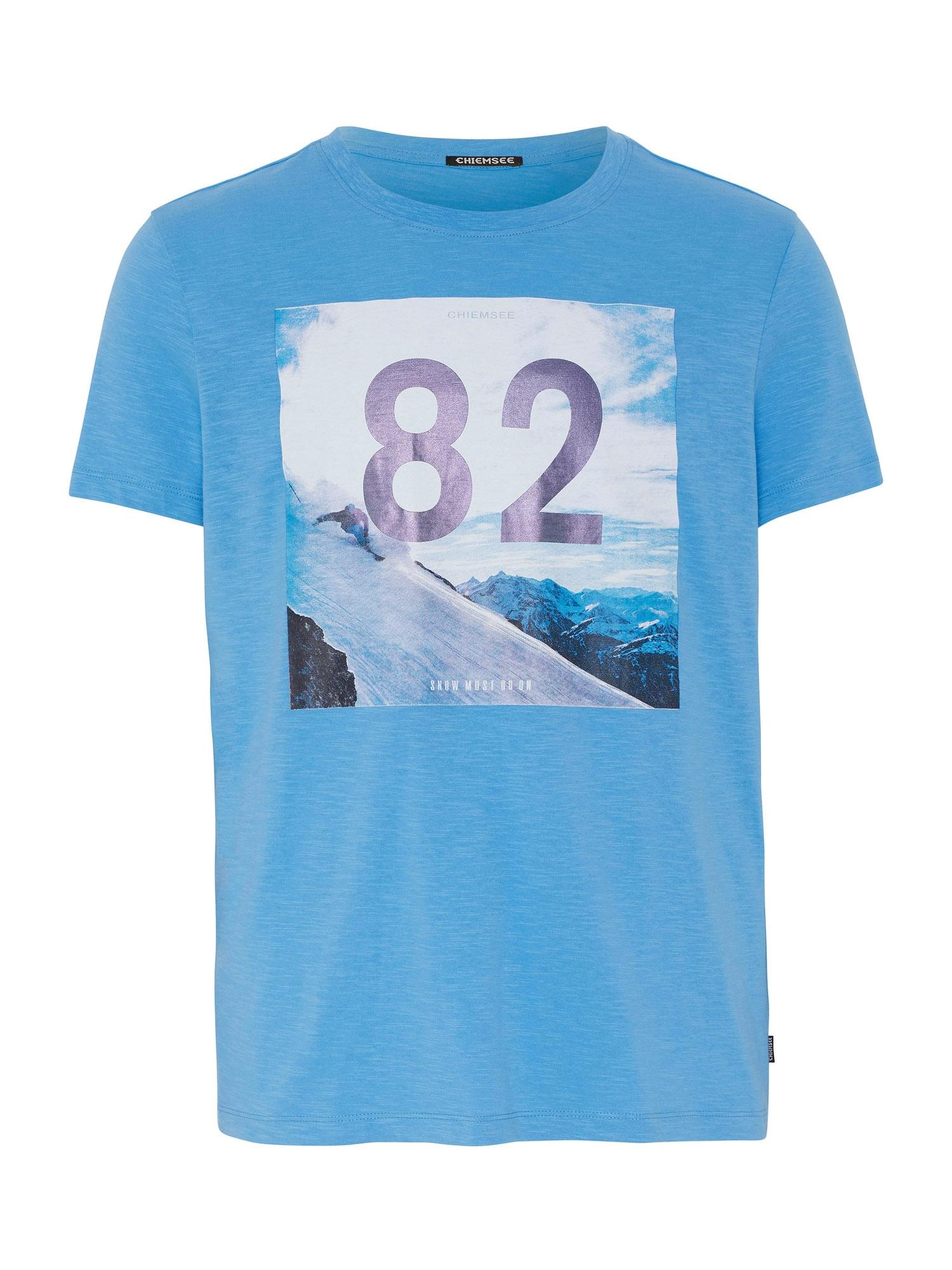 CHIEMSEE Tričko 'RAKAPOSHI'  modrá