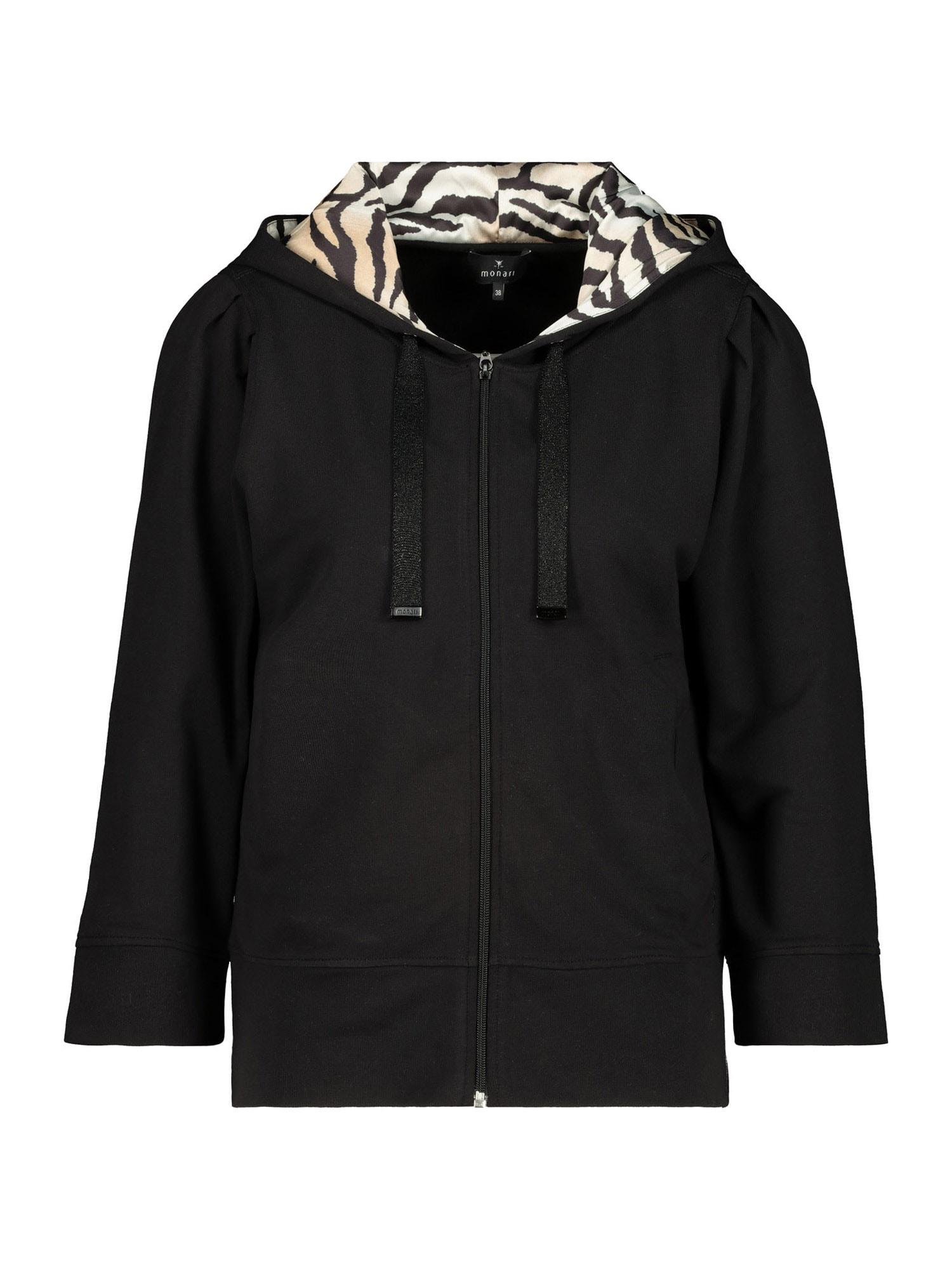 monari Džemperis juoda / pudros spalva / smėlio spalva
