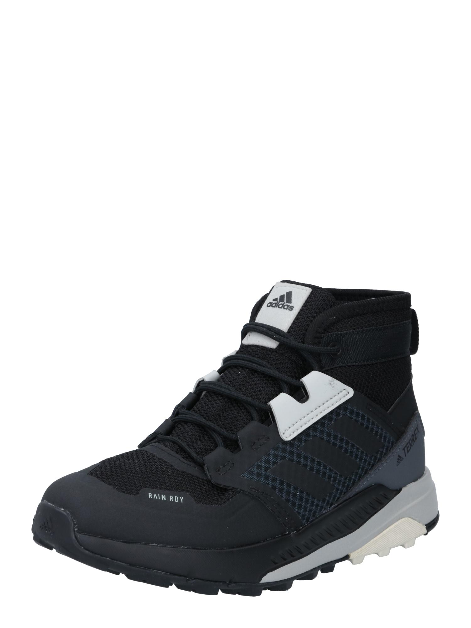 ADIDAS PERFORMANCE Sportiniai batai 'TERREX Trailmaker Mid' juoda / smėlio / pilka