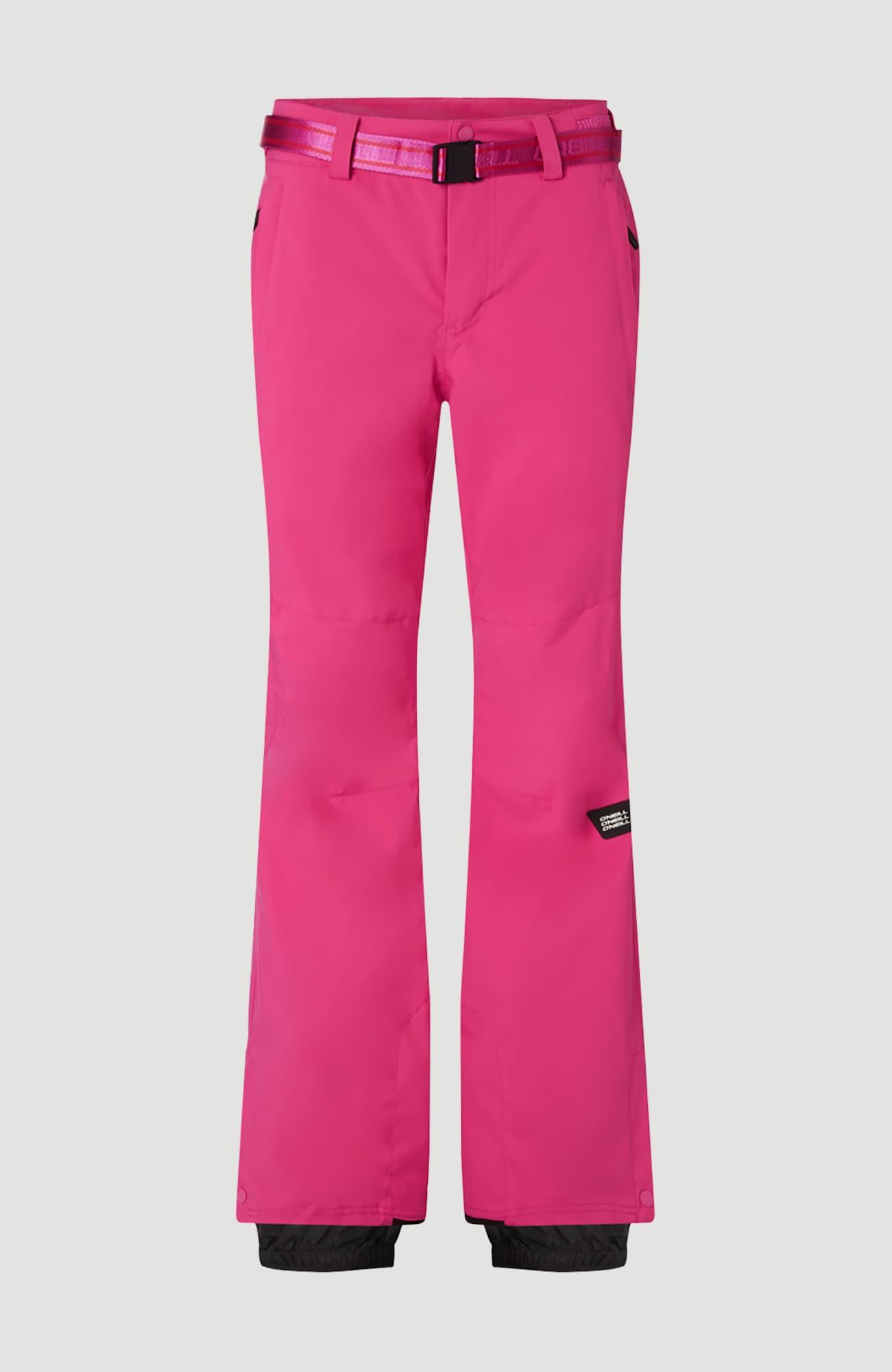 O'NEILL Outdoorové kalhoty 'Star Slim'  pink / černá
