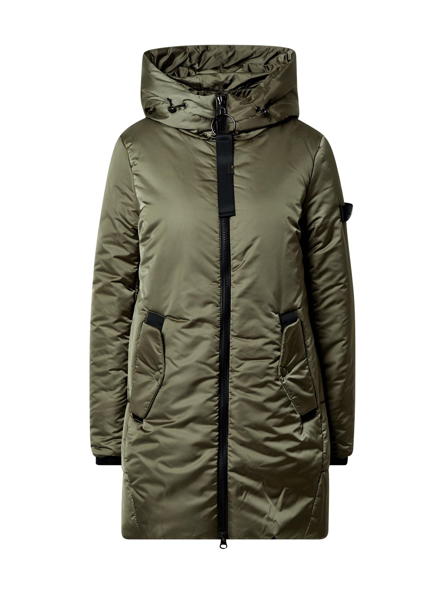 RINO & PELLE Zimní kabát  olivová