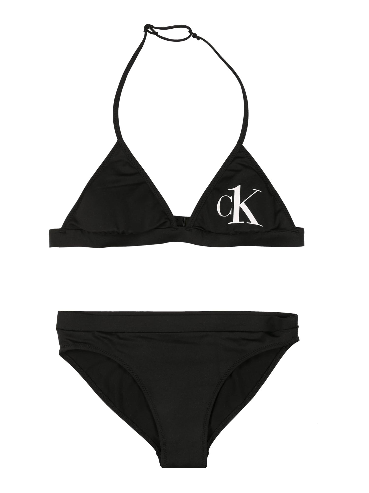 Calvin Klein Swimwear Bikinis juoda