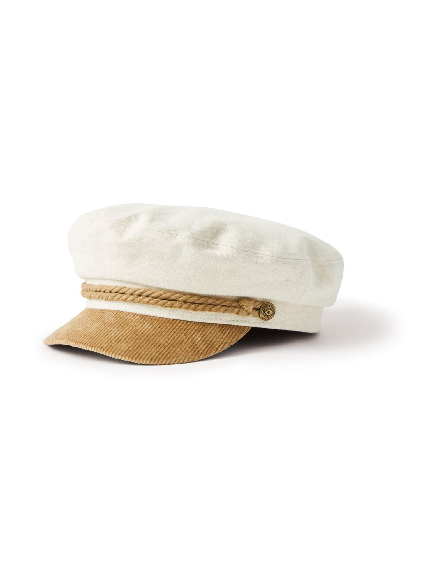 Brixton Kepurė smėlio spalva / balta