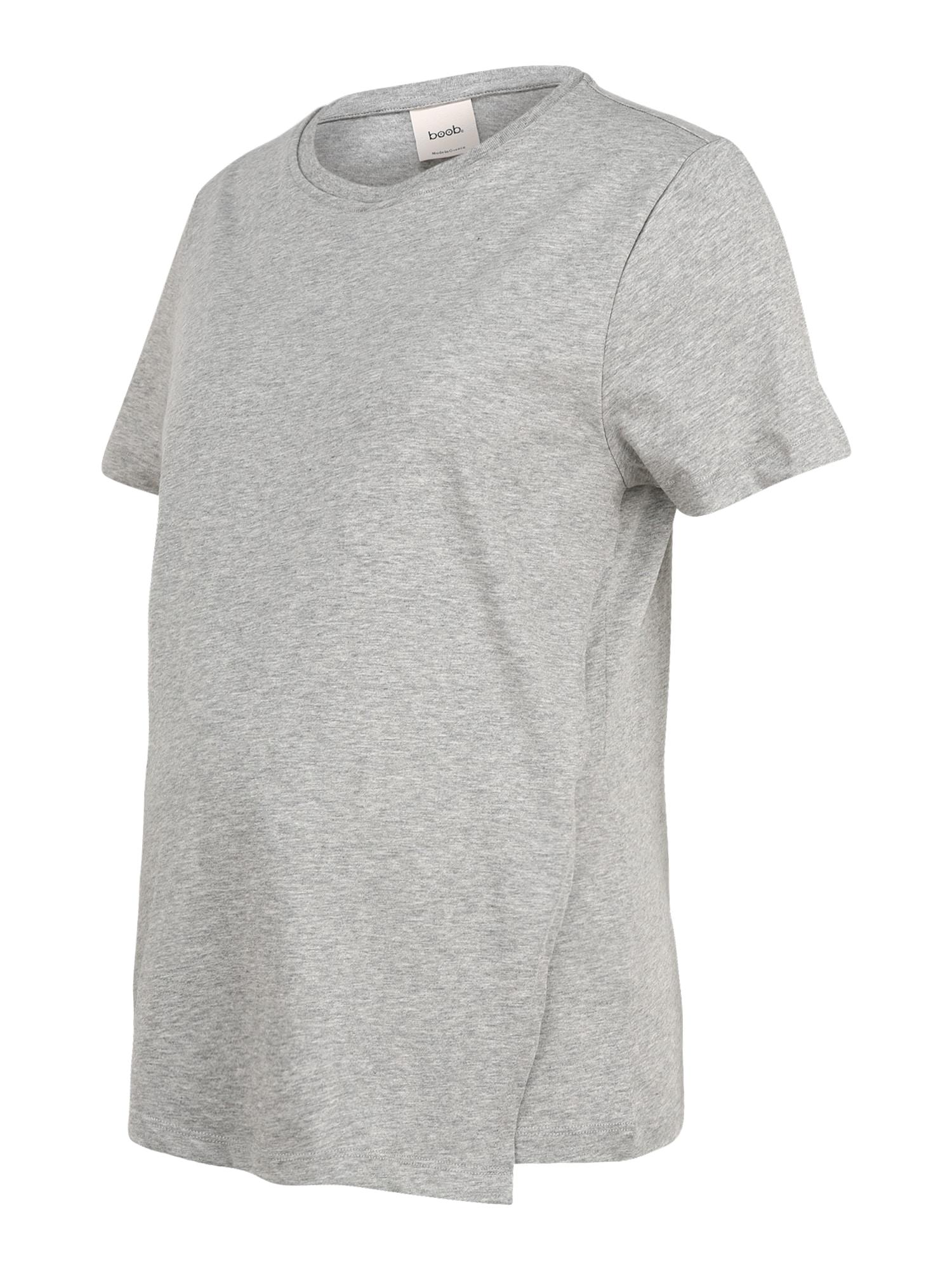 BOOB Marškinėliai pilka