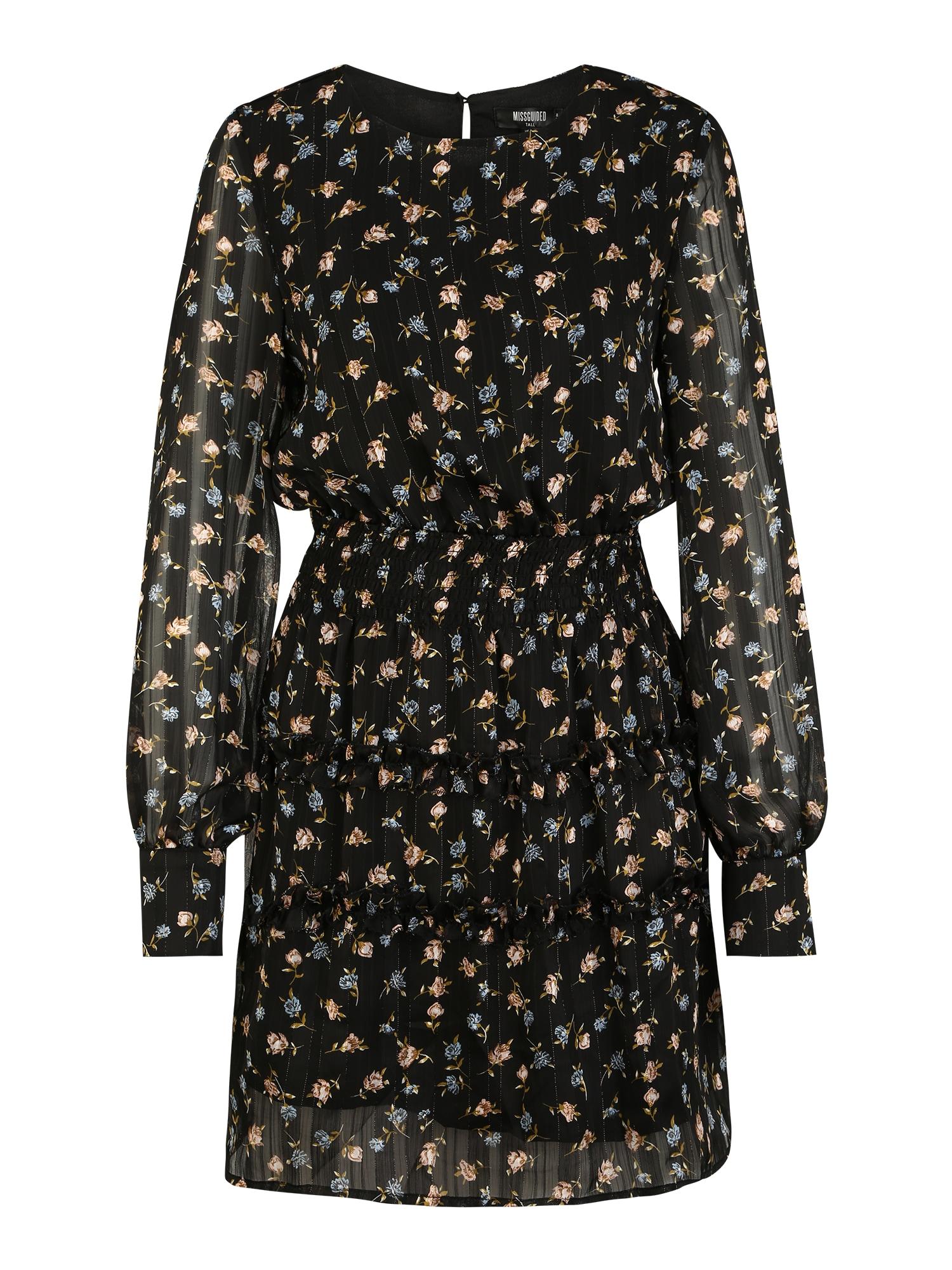 Missguided (Tall) Suknelė juoda / mišrios spalvos