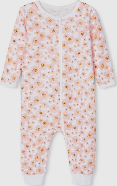Name It Baby Langarm-Schlafanzug in Silber-Pink 2er-Pack