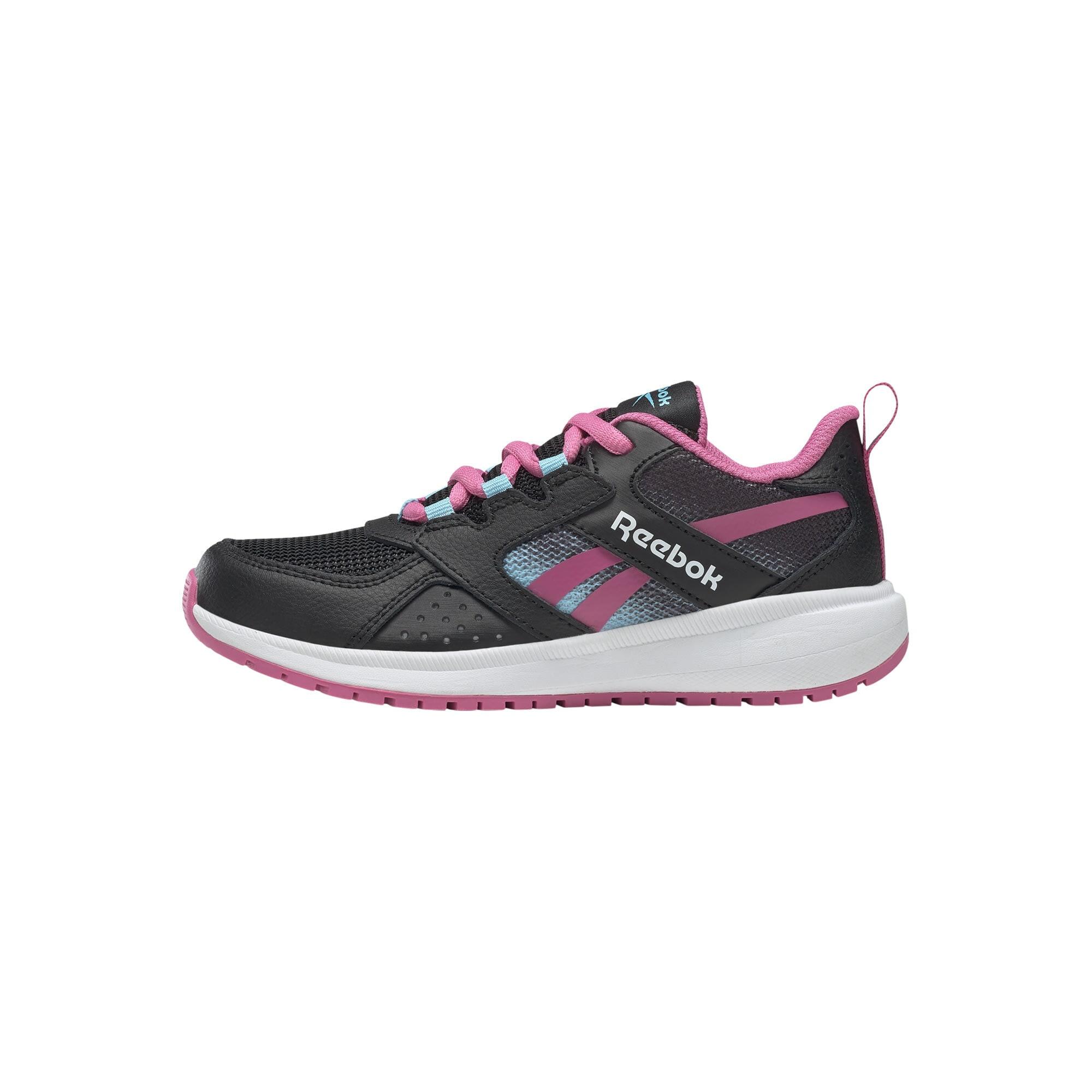 REEBOK Sportiniai batai 'Road Supreme 2' juoda / šviesiai mėlyna / ciklameno spalva
