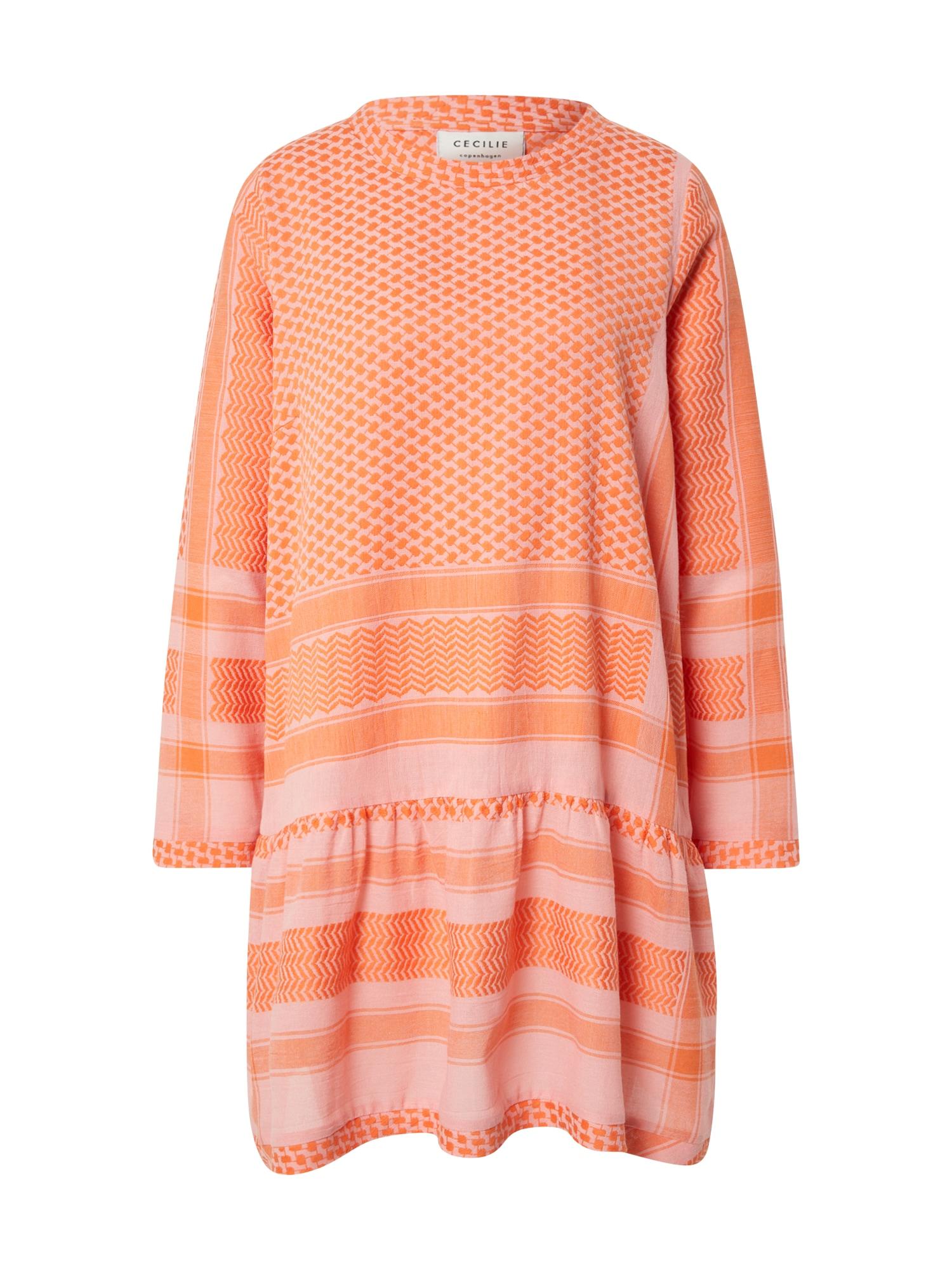 Cecilie Copenhagen Suknelė oranžinė / rožių spalva