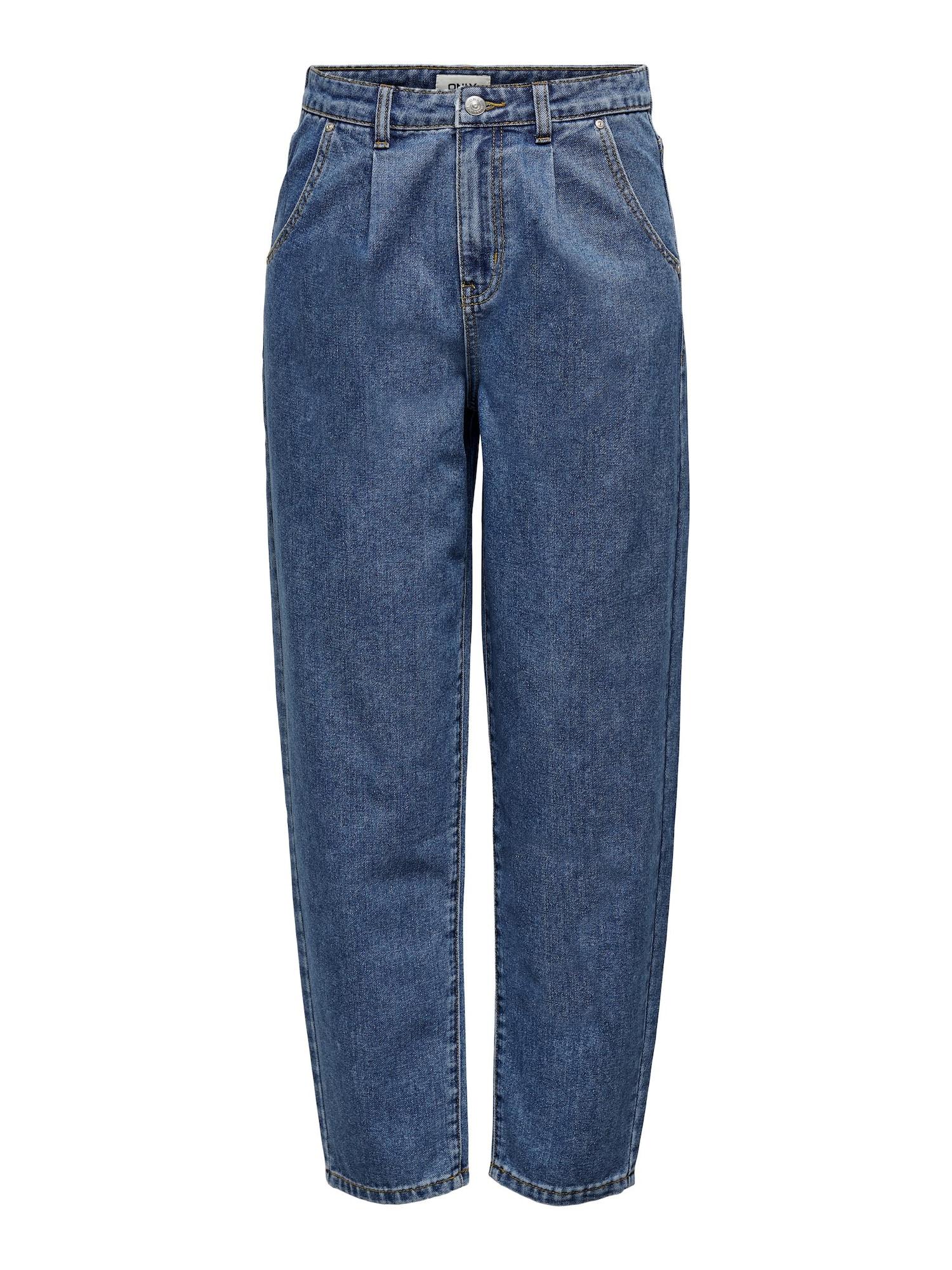 ONLY Džinsai su kantu tamsiai (džinso) mėlyna