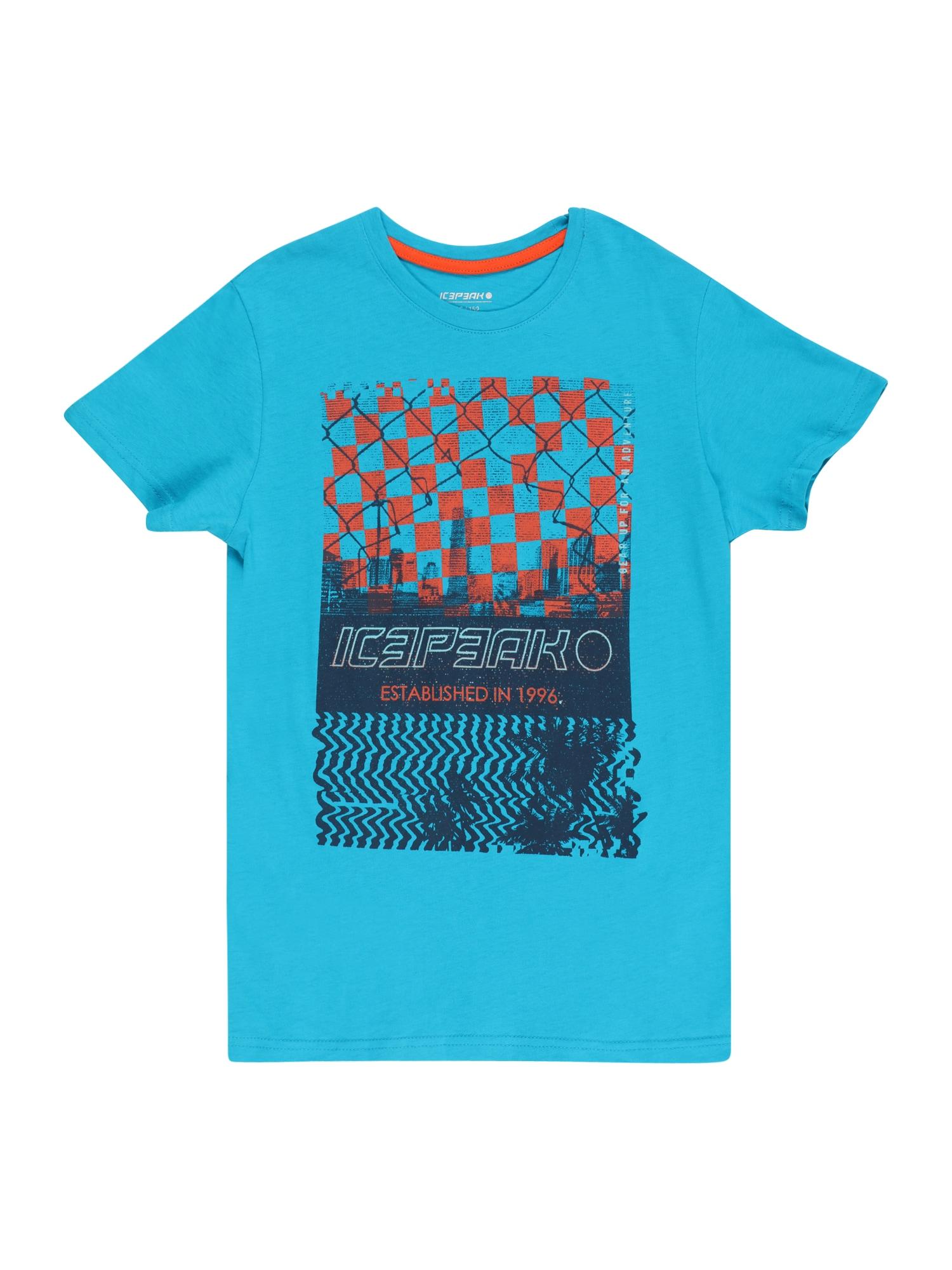 ICEPEAK Marškinėliai vandens spalva