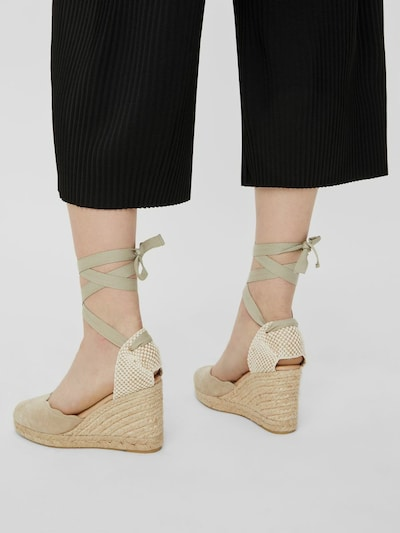 Bianco Demi Tie Strap gewebter Wedge-Sandal