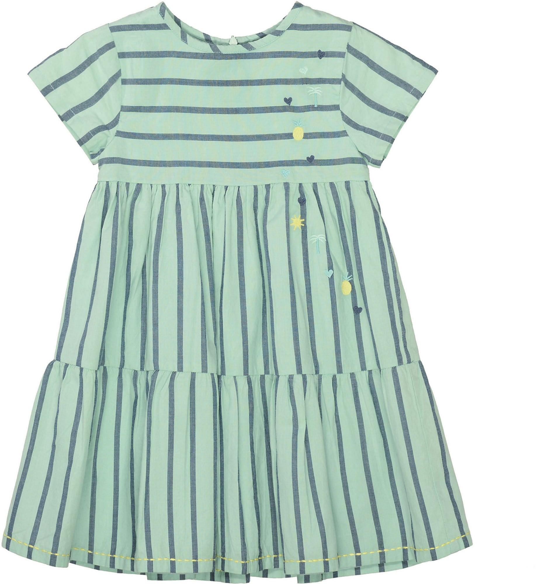 BASEFIELD Suknelė melsvai pilka / mėtų spalva / nefrito spalva / žaliosios citrinos spalva