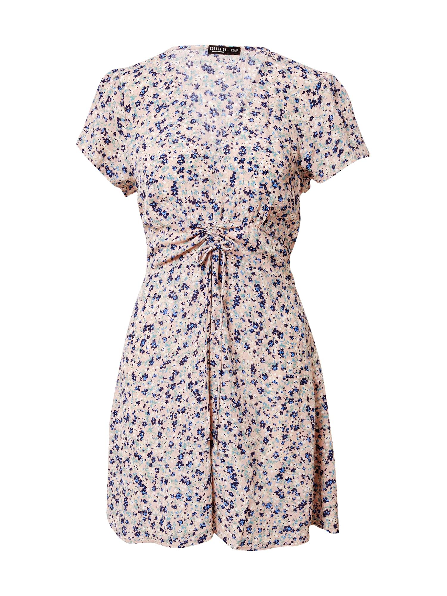 Cotton On Šaty  mix barev / růžová