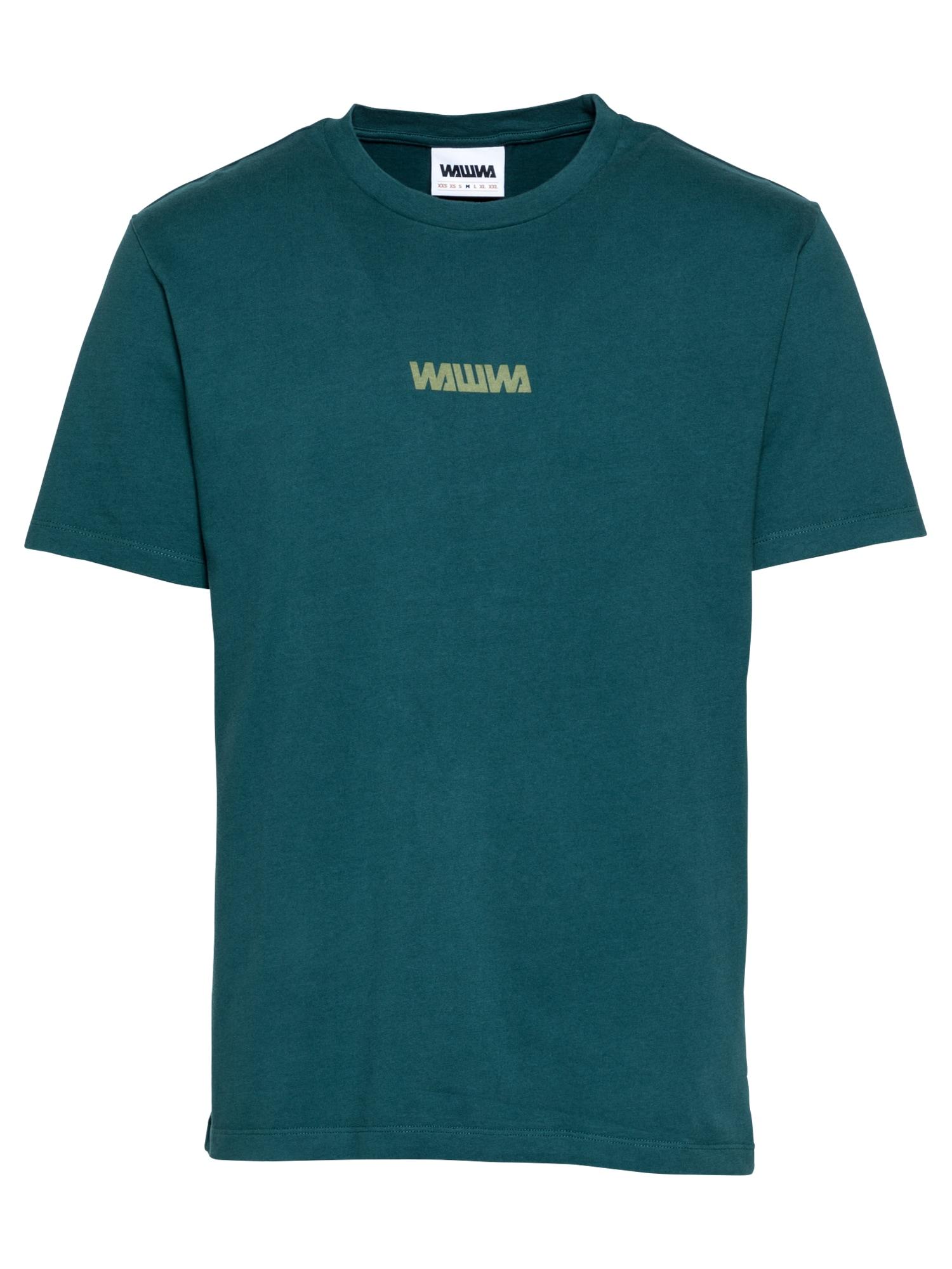 WAWWA Marškinėliai benzino spalva