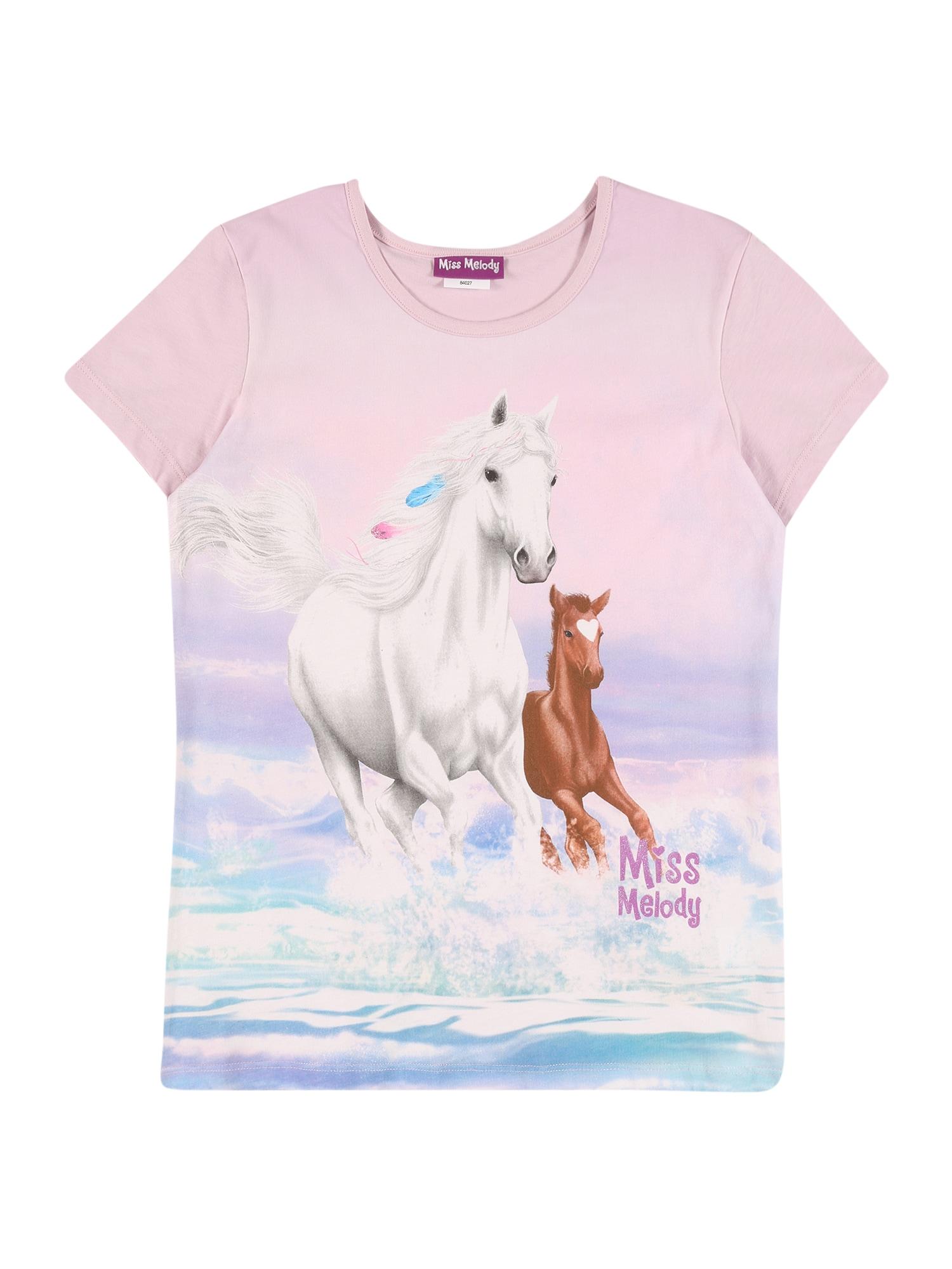 Miss Melody Marškinėliai rožinė / mišrios spalvos