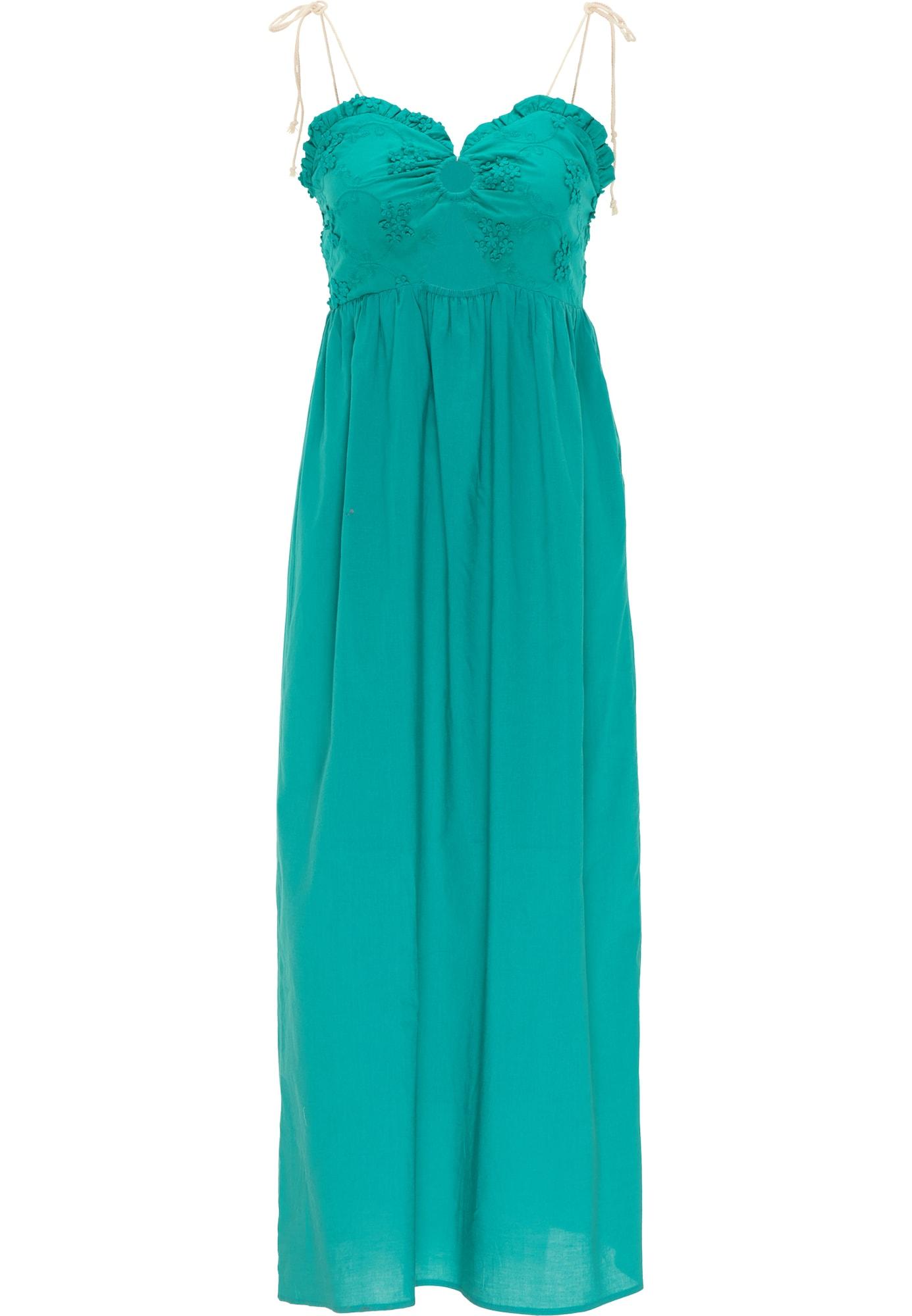 IZIA Vasarinė suknelė nefrito spalva