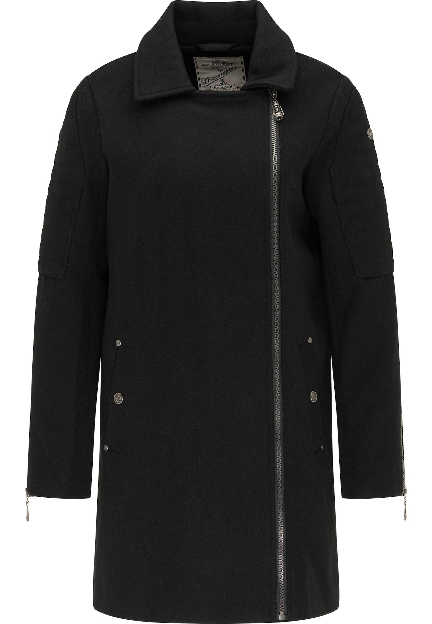 DreiMaster Vintage Demisezoninis paltas juoda