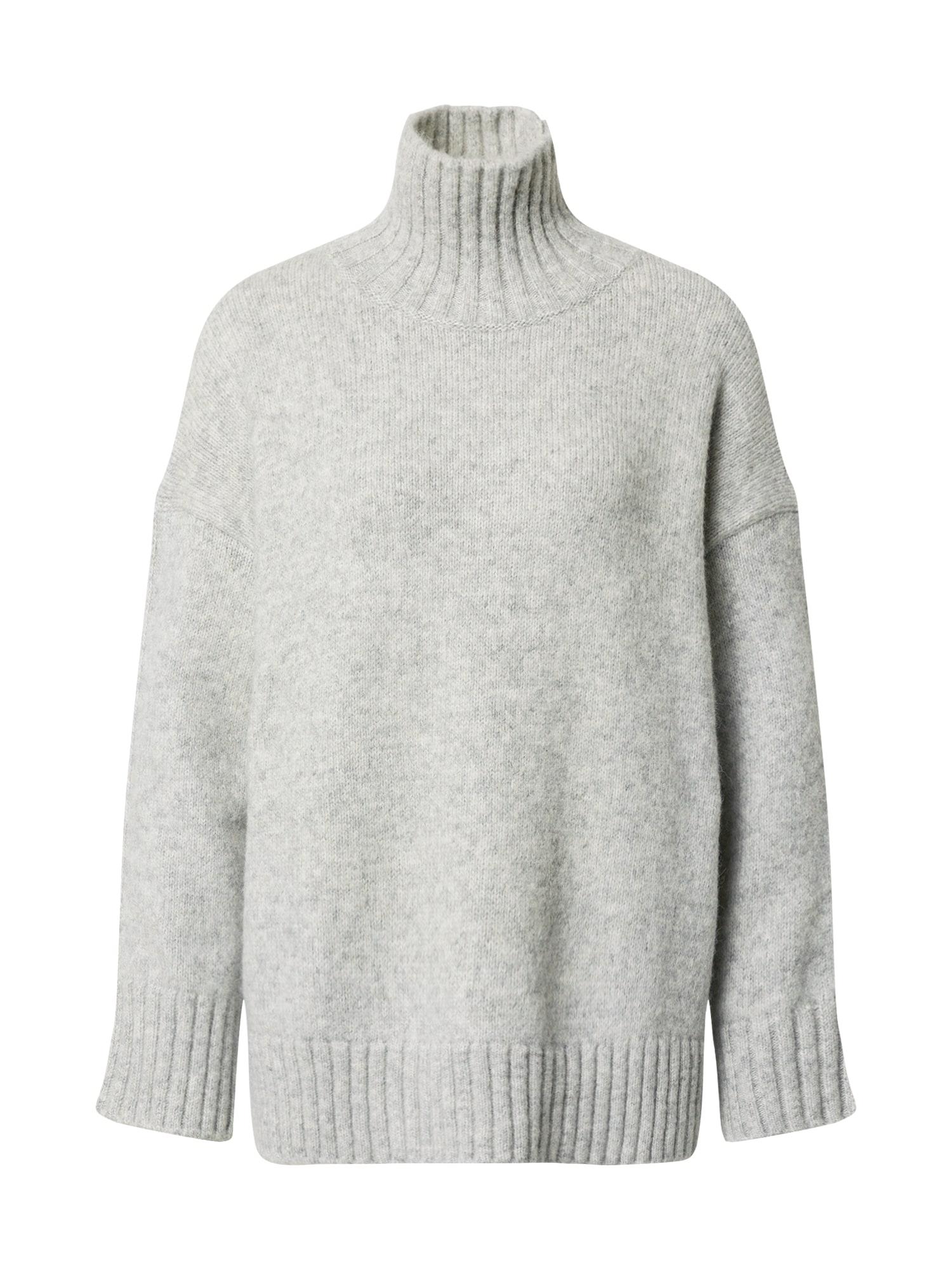 AG Jeans Megztinis 'Boxy' šviesiai pilka