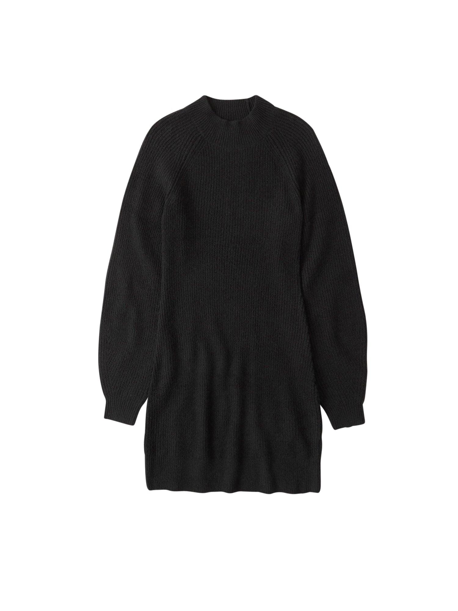 Abercrombie & Fitch Megzta suknelė tamsiai pilka