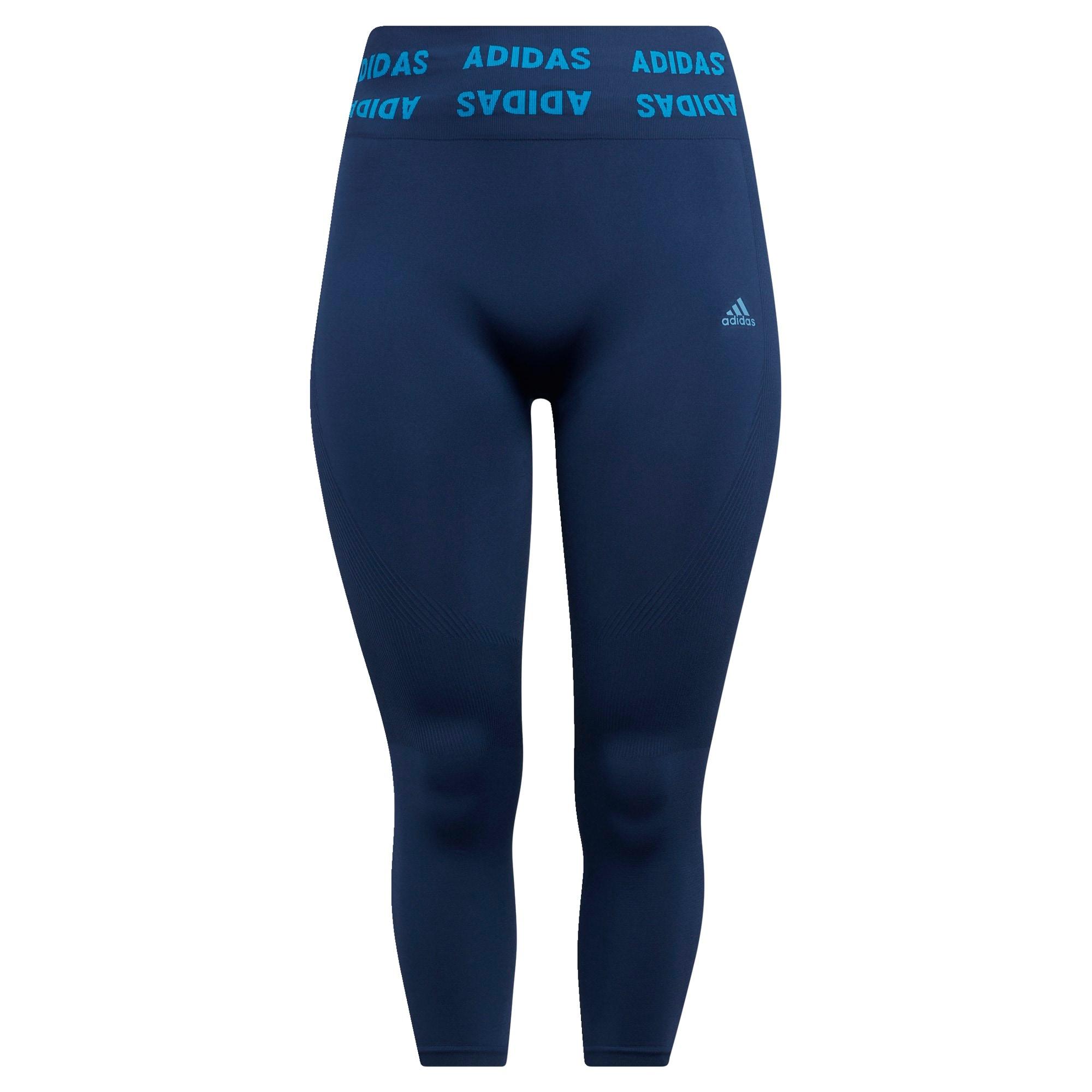 ADIDAS PERFORMANCE Sportinės kelnės tamsiai mėlyna / šviesiai mėlyna