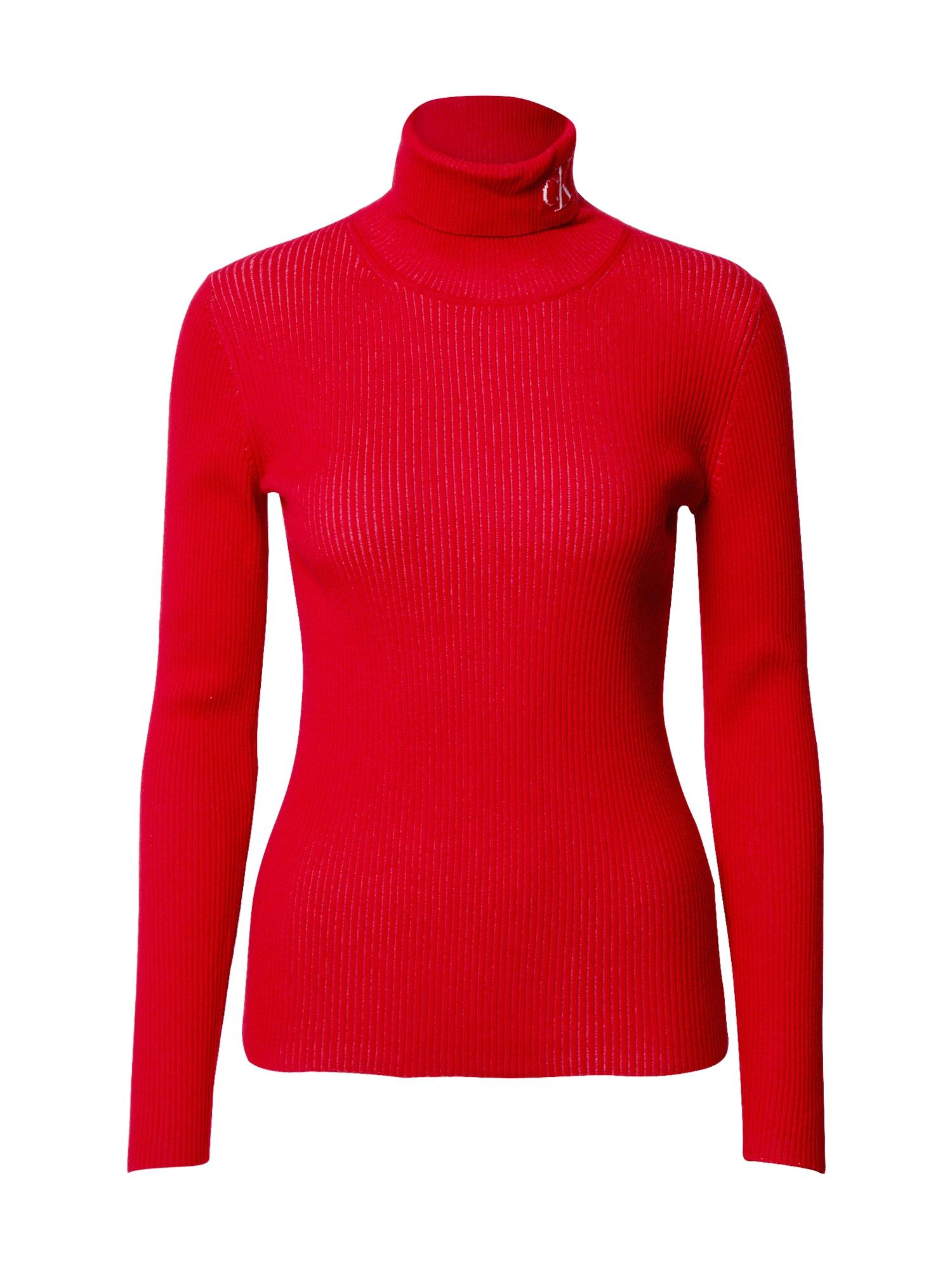 Calvin Klein Jeans Svetr  červená
