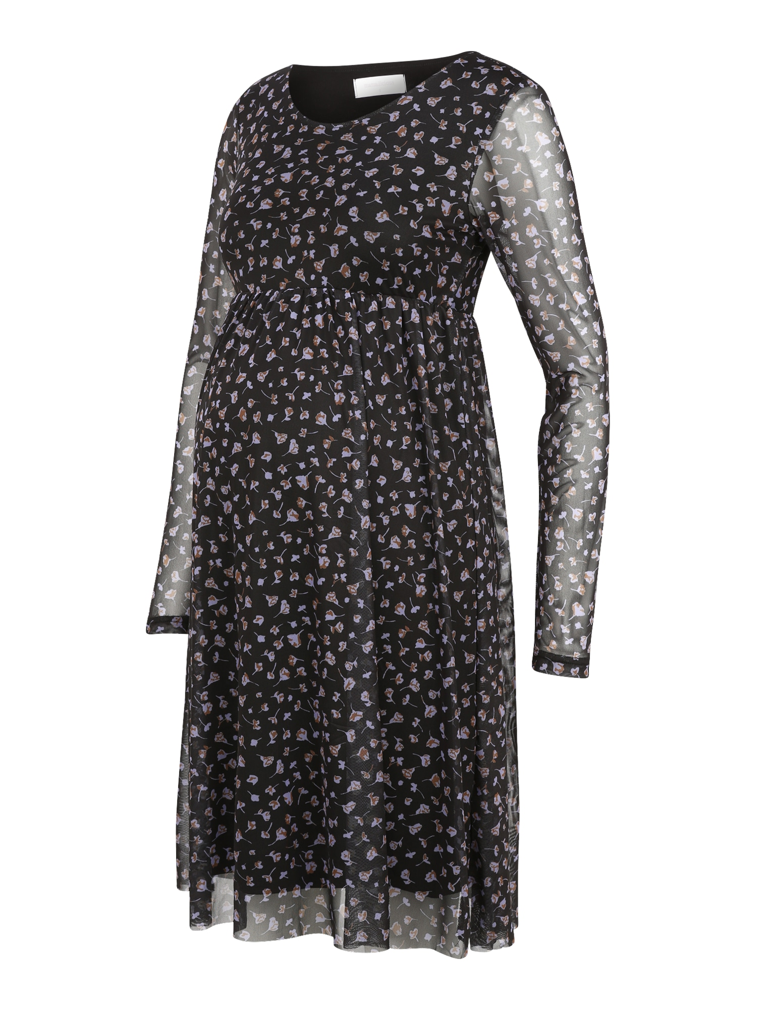 MAMALICIOUS Suknelė juoda / smėlio