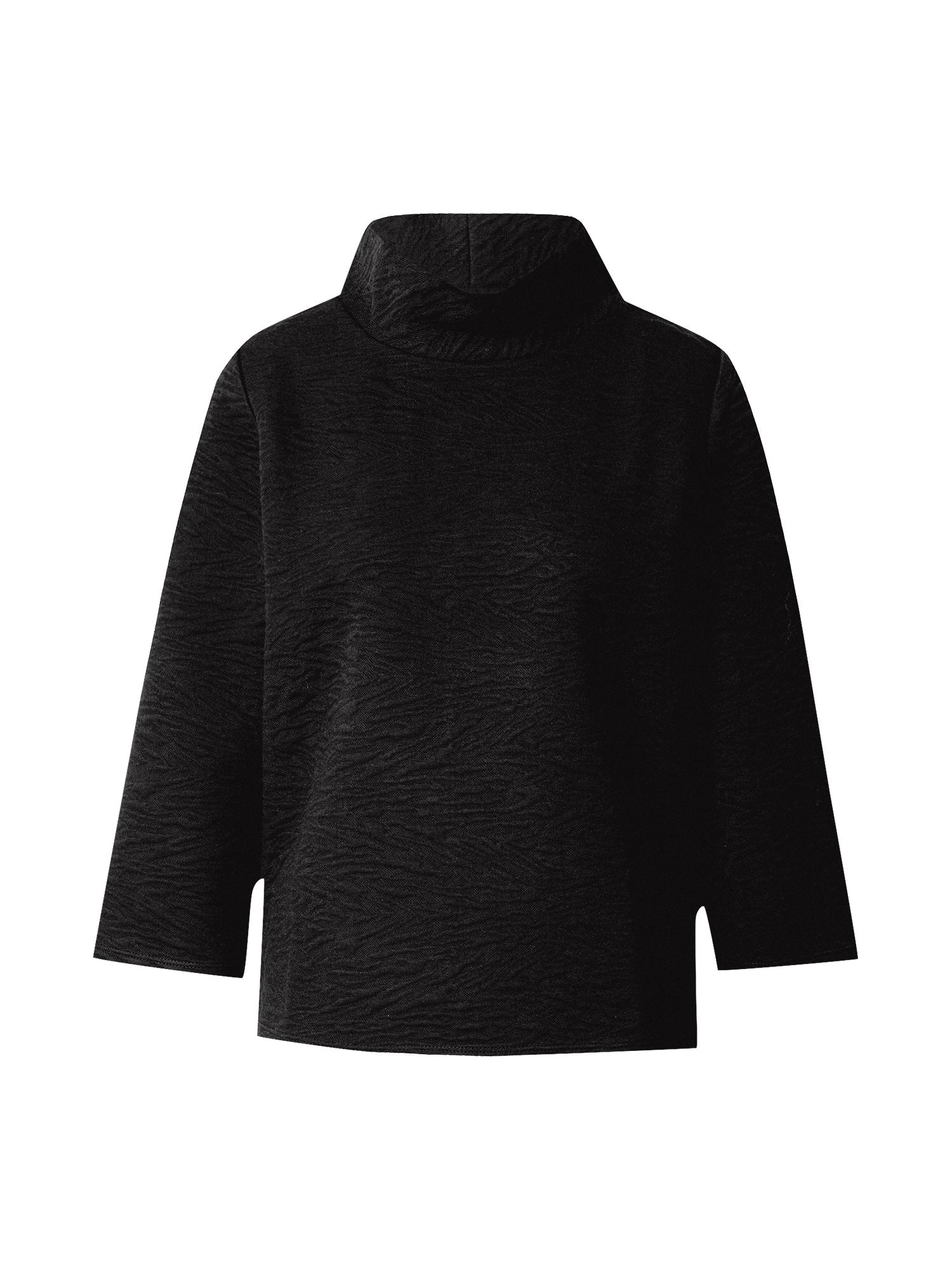 MORE & MORE Megztinis be užsegimo juoda