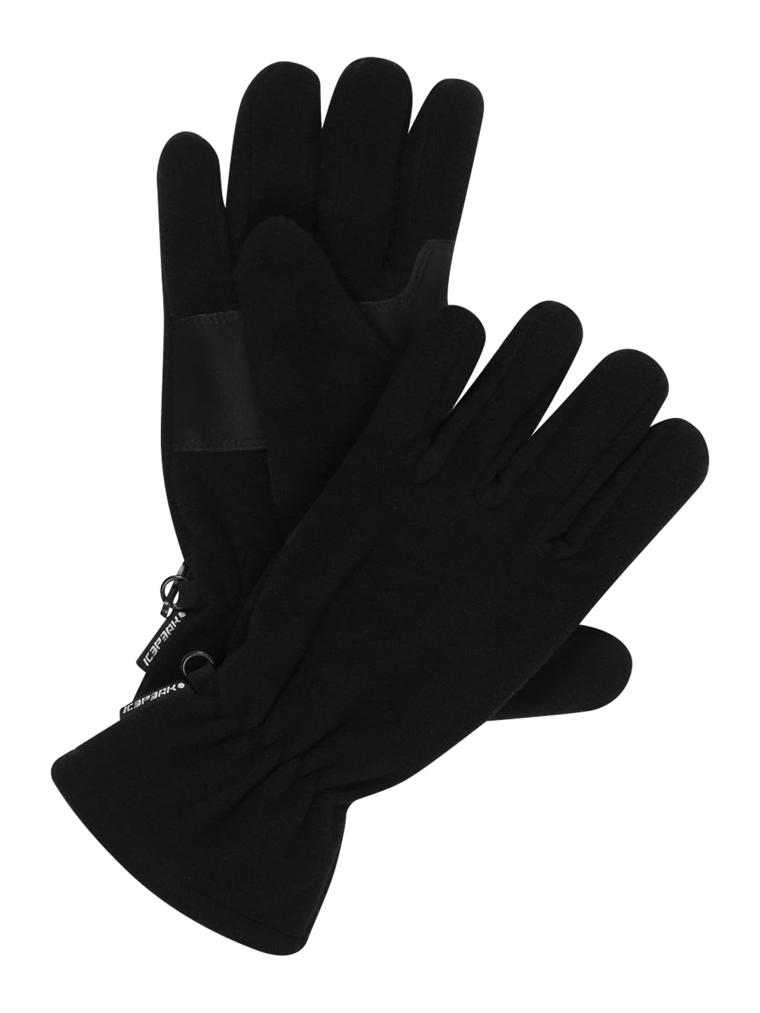 ICEPEAK Sportinės pirštinės 'HOMEDALE' juoda