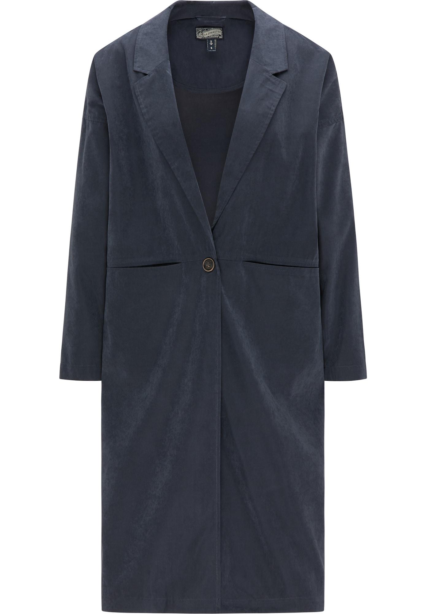 DreiMaster Vintage Vasarinis paltas tamsiai mėlyna jūros spalva