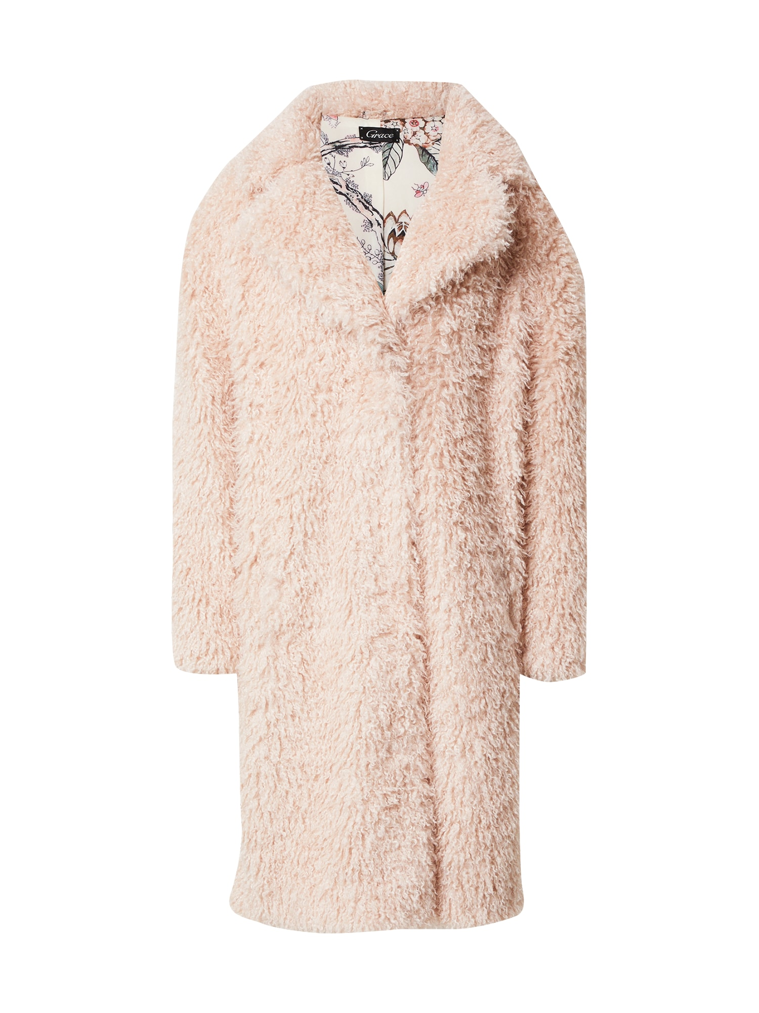 Grace Demisezoninis paltas pilka