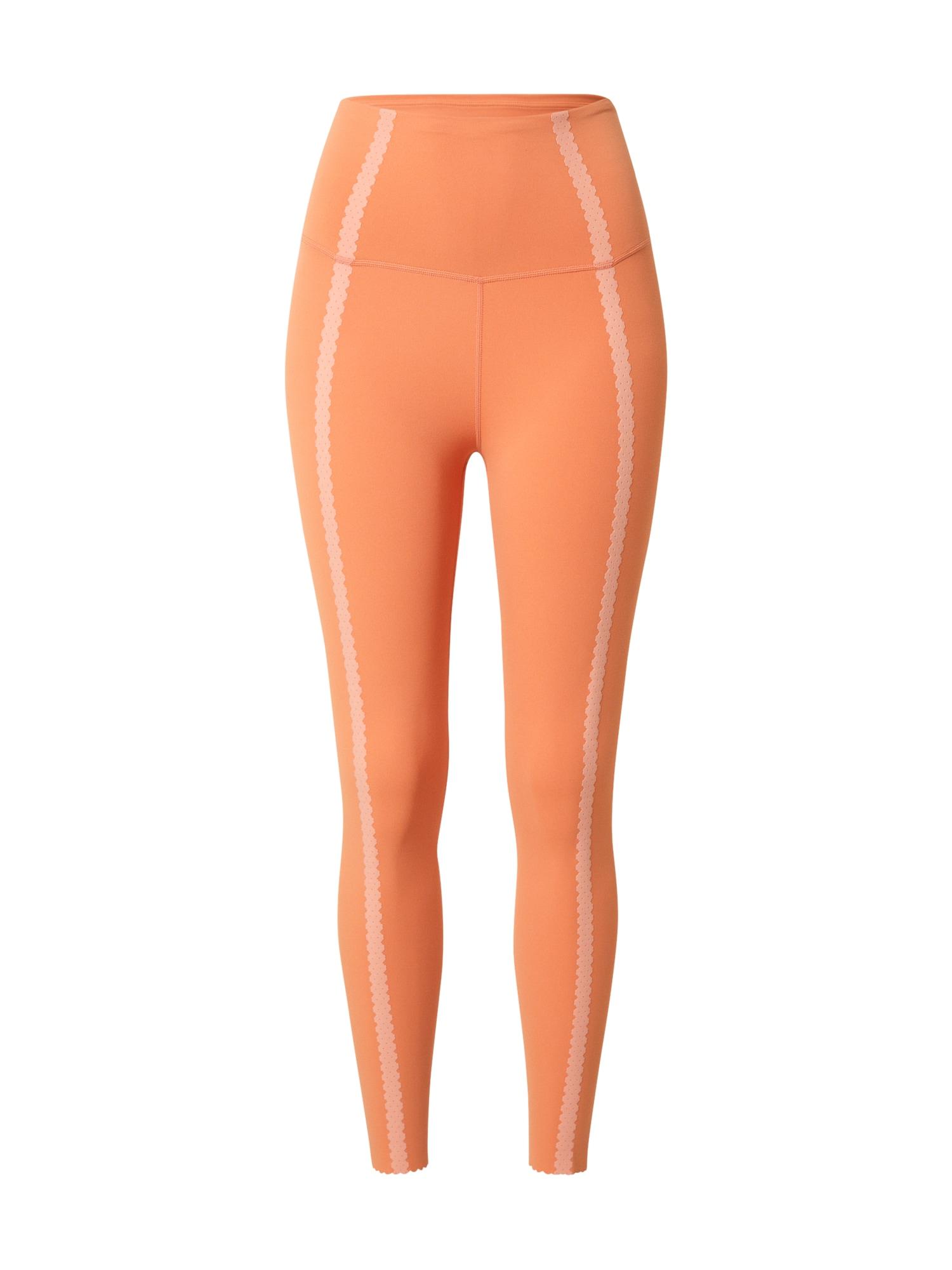 NIKE Sportovní kalhoty  oranžová / broskvová