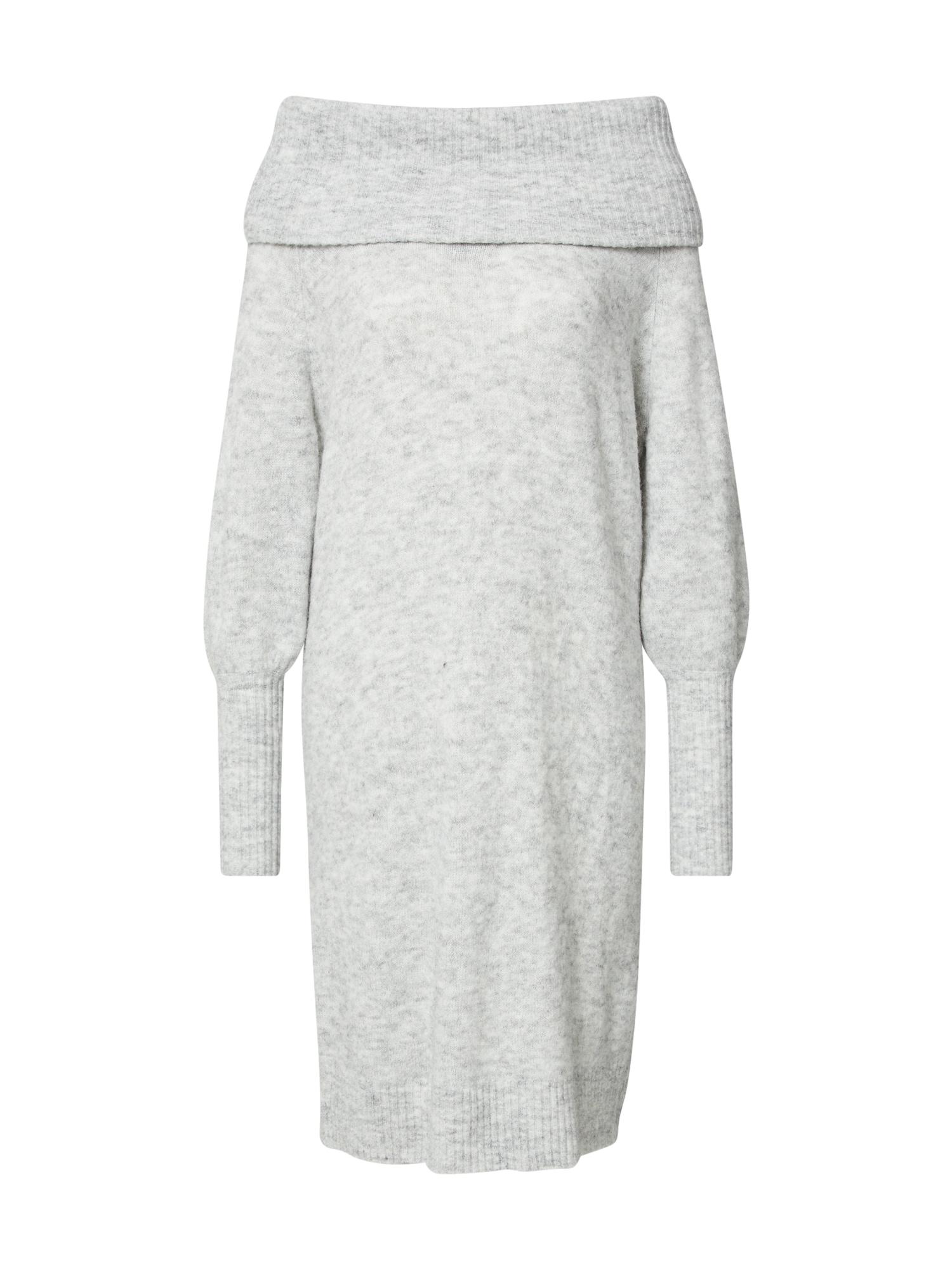 ONLY Úpletové šaty 'STAY'  šedá