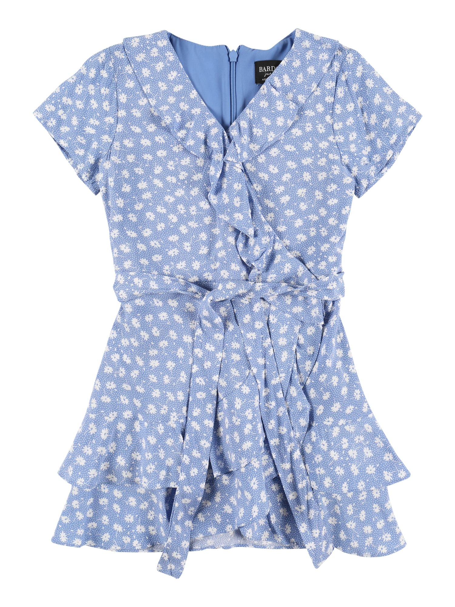 Bardot Junior Suknelė balta / mėlyna