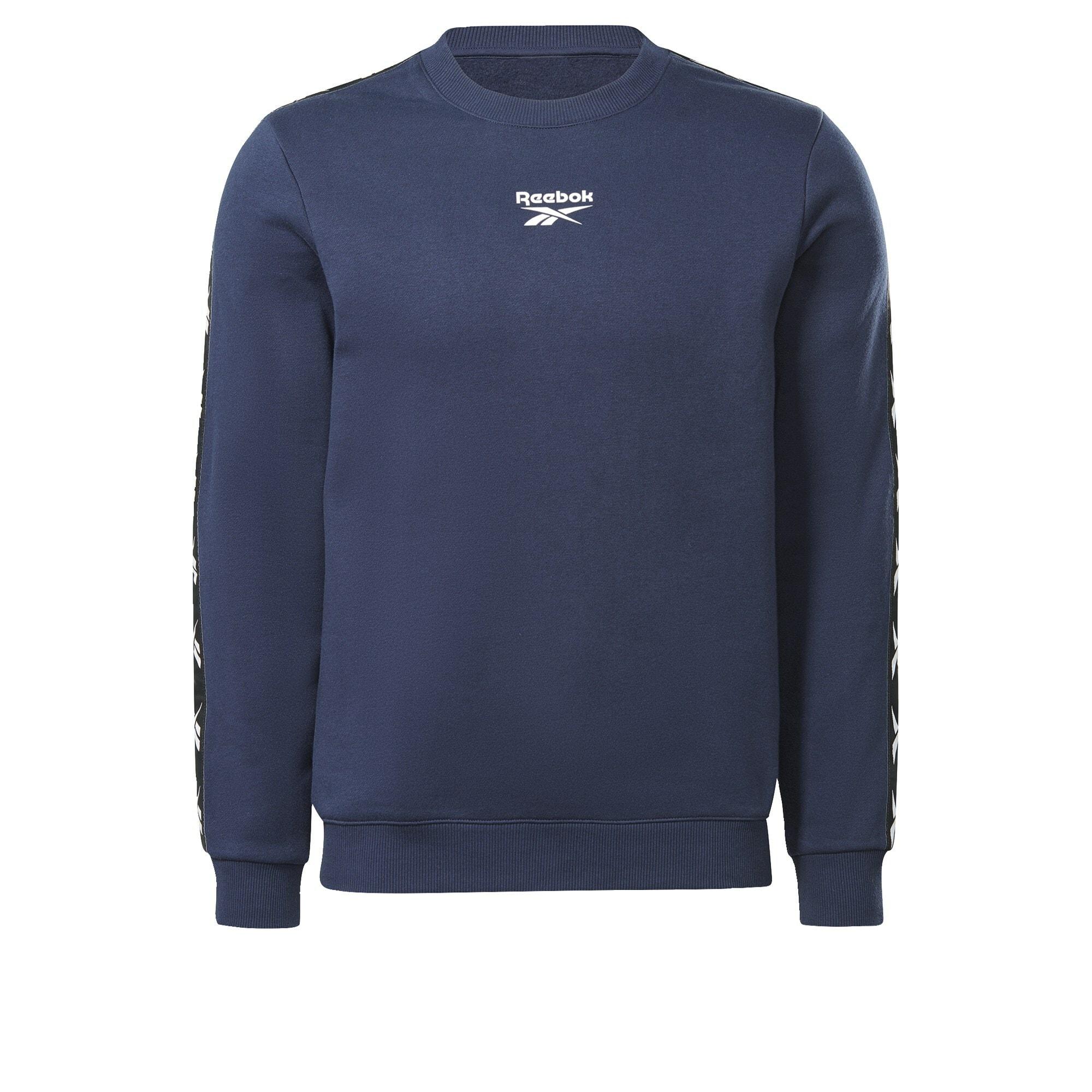 REEBOK Sportinio tipo megztinis nakties mėlyna / balta