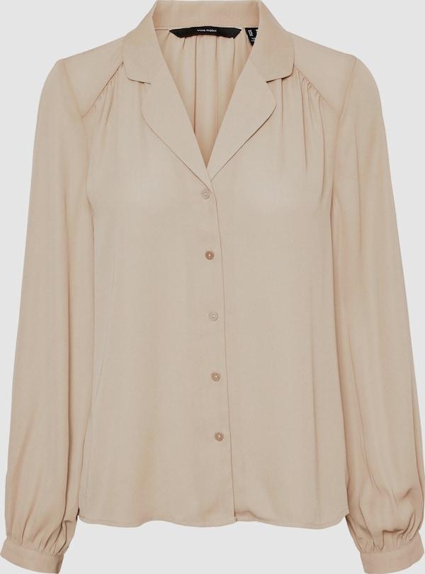 Vero Moda Tall Poel Langärmeliges, locker sitzendes Hemd mit Knopfleiste