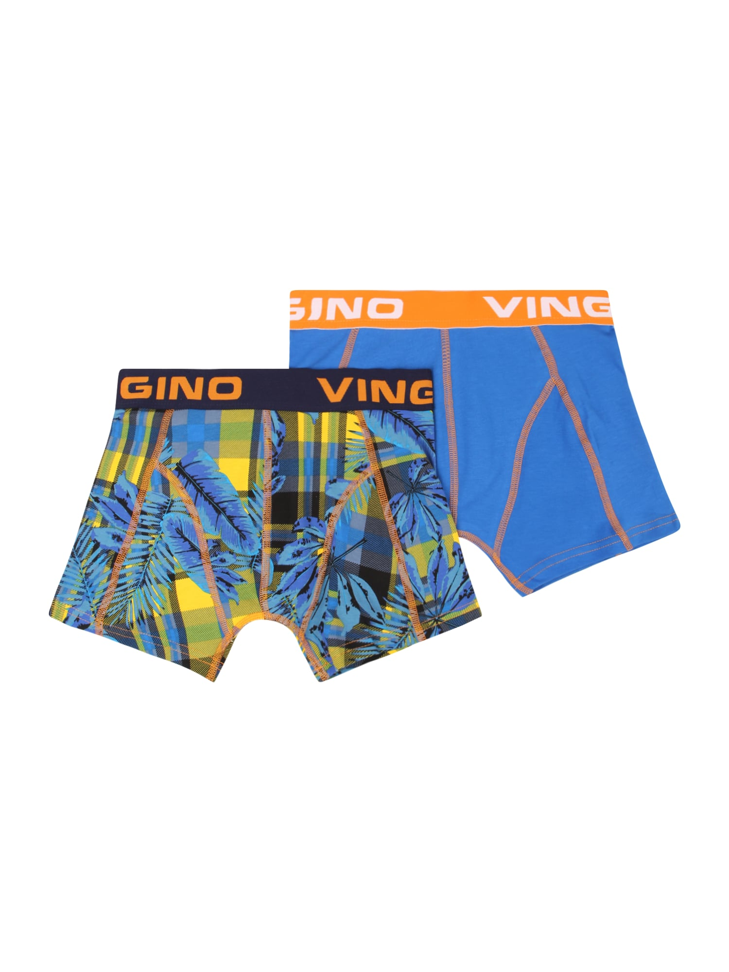 VINGINO Apatinės kelnaitės mėlyna / geltona / oranžinė / tamsiai mėlyna