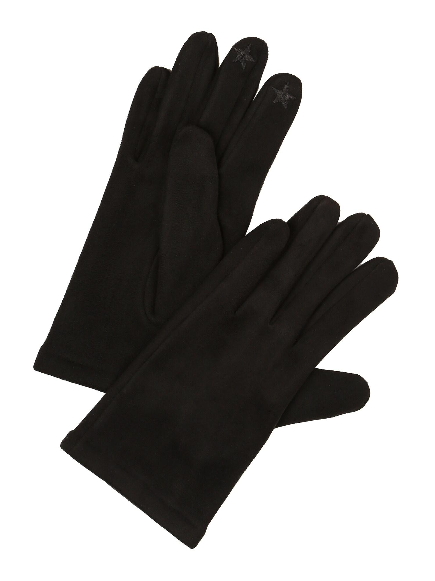 ESPRIT Pirštuotos pirštinės juoda